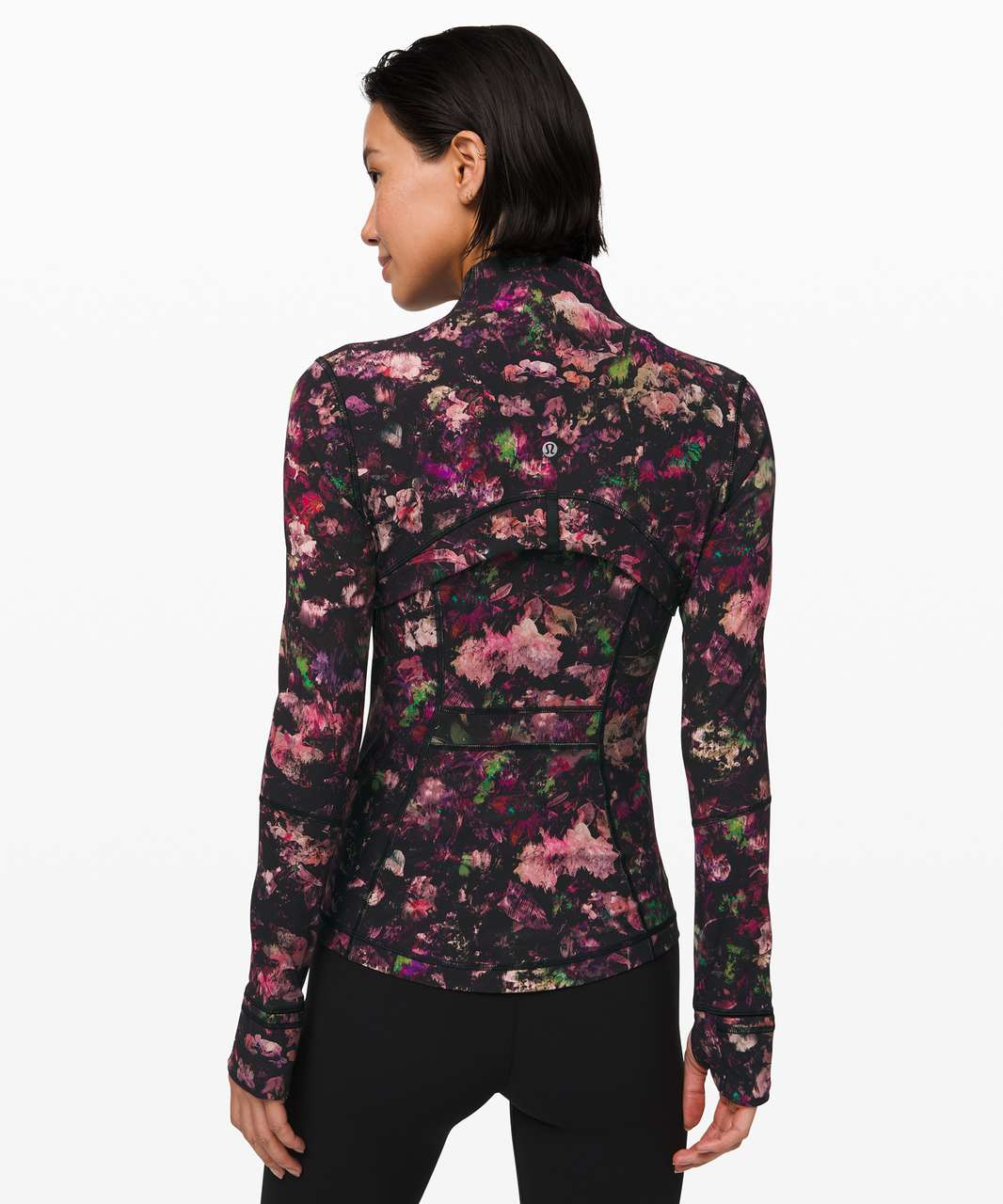 Lululemon Define Jacket *Luxtreme - Floral Illusion Antique White Multi