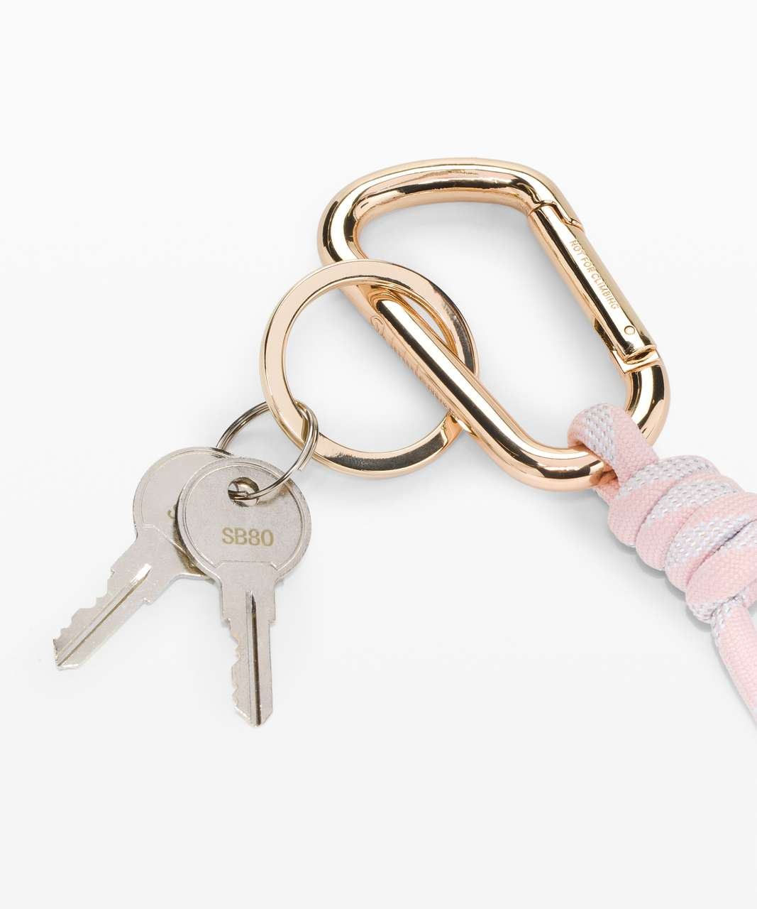 Lululemon You Hold The Keychain - Misty Pink