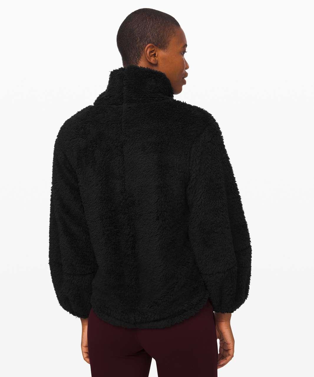 Lululemon Warmth Restore Sherpa Pullover - Black