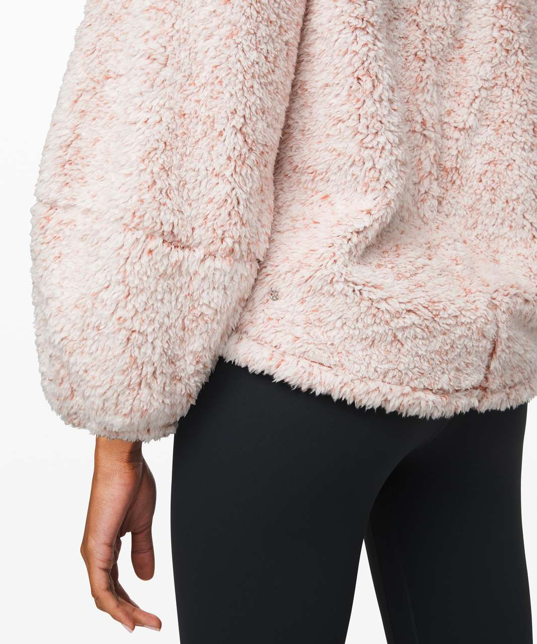 Lululemon Warmth Restore Sherpa Pullover - Heathered Copper Clay