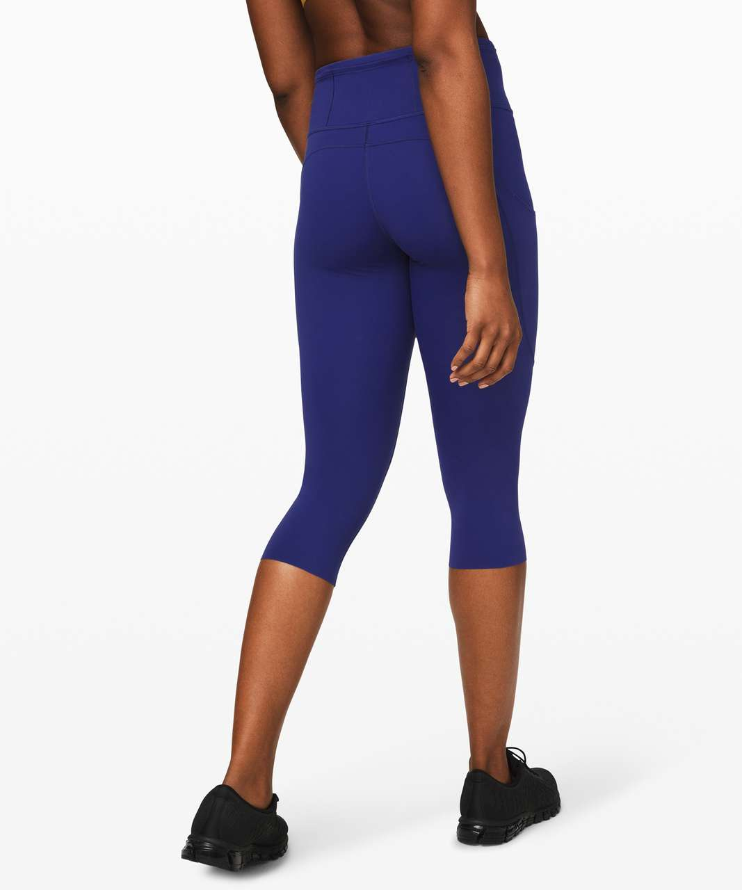 """Lululemon Fast and Free Crop II 19"""" *Non-Reflective - Larkspur"""
