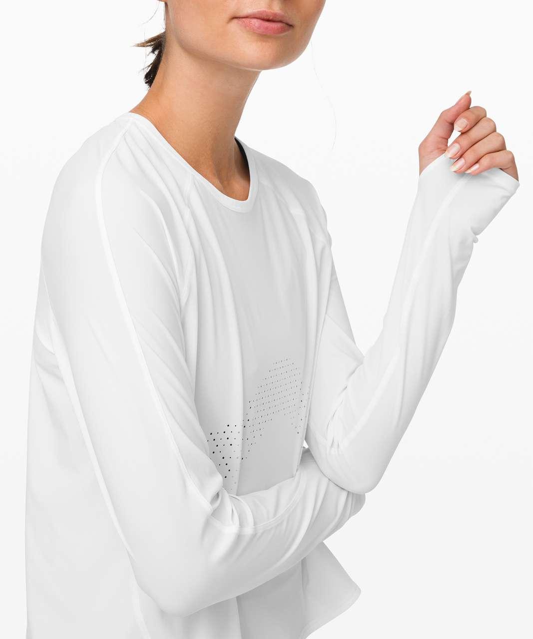 Lululemon Strong Rays Long Sleeve - White