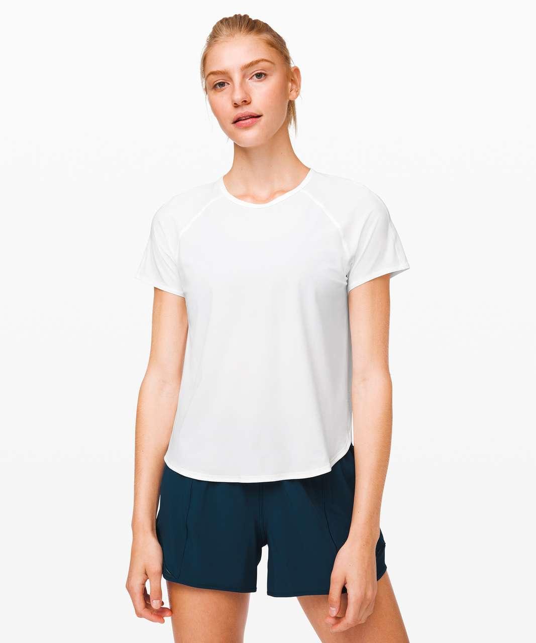 Lululemon Strong Rays Short Sleeve - White