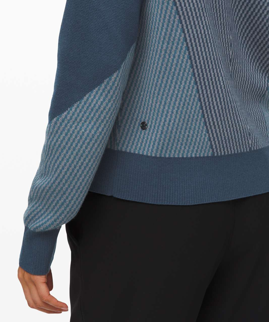 Lululemon Here for Serenity Sweater - Night Diver / Blue Charcoal / Petrol Blue