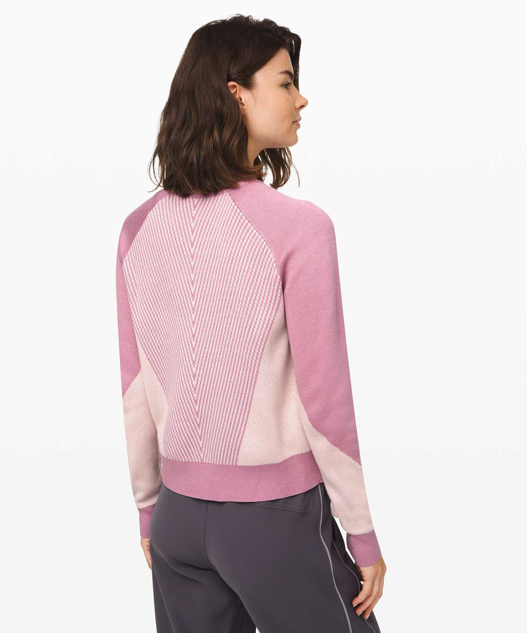 Lululemon Here for Serenity Sweater - Pink Taupe / Light Chrome / Pink Bliss