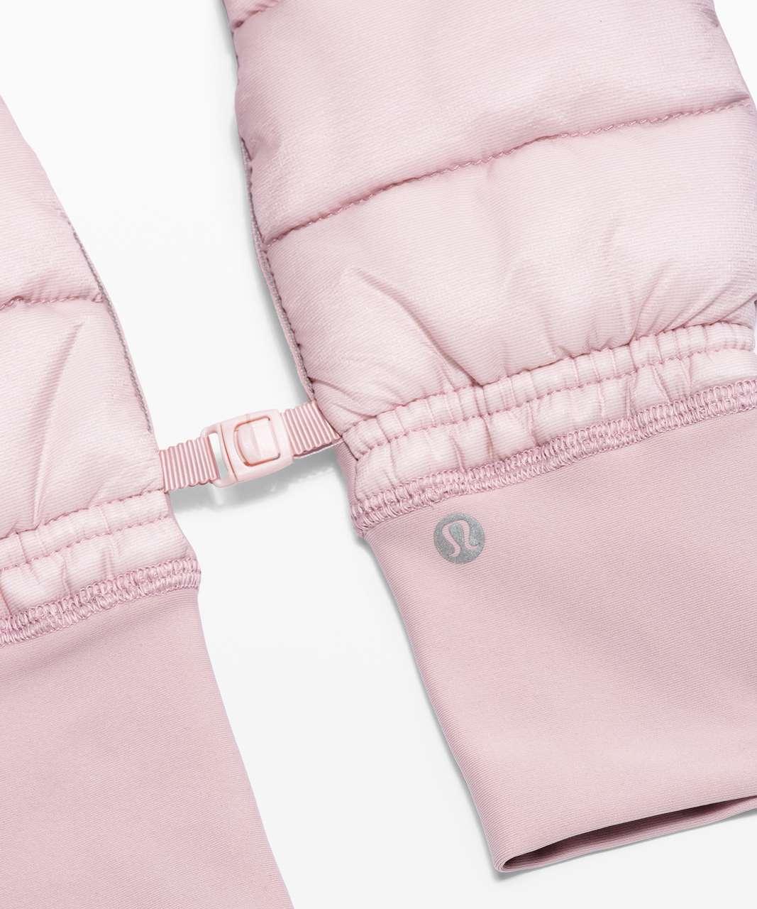 Lululemon Pinnacle Warmth Mittens - Porcelain Pink