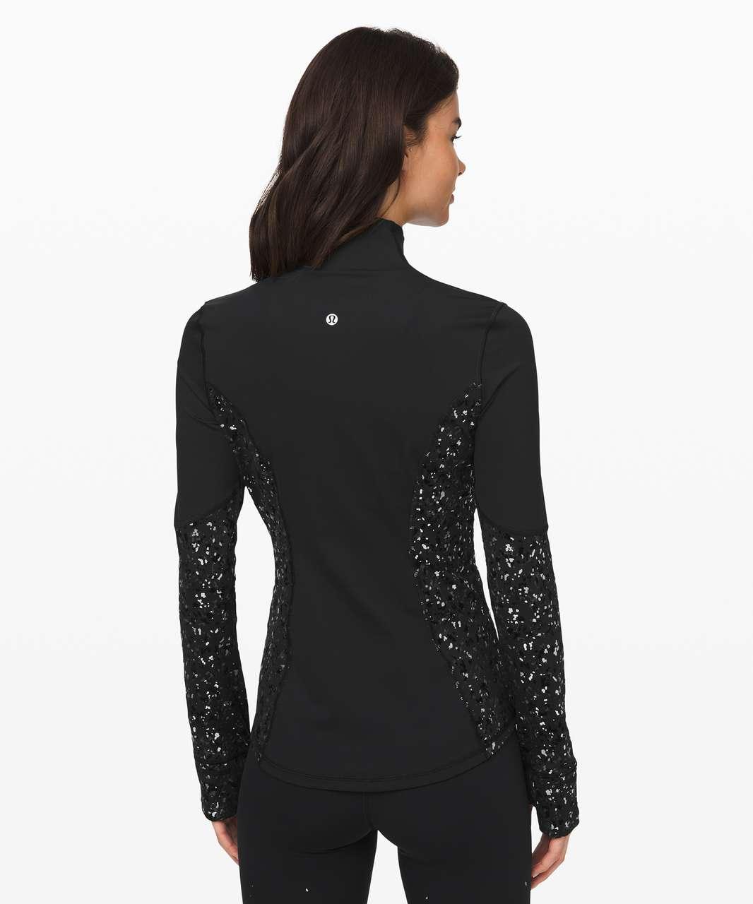 Lululemon Define Jacket *Speckle Shine - Black / Deep Coal / Silver