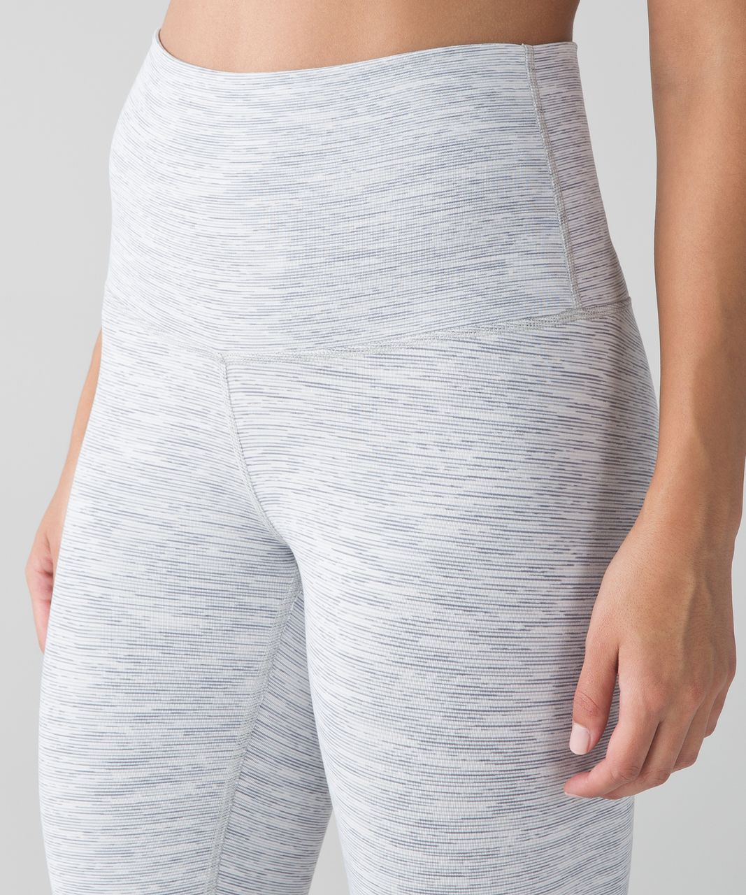 Lululemon Wunder Under Crop (Hi-Rise) - Wee Are From Space Nimbus Battleship