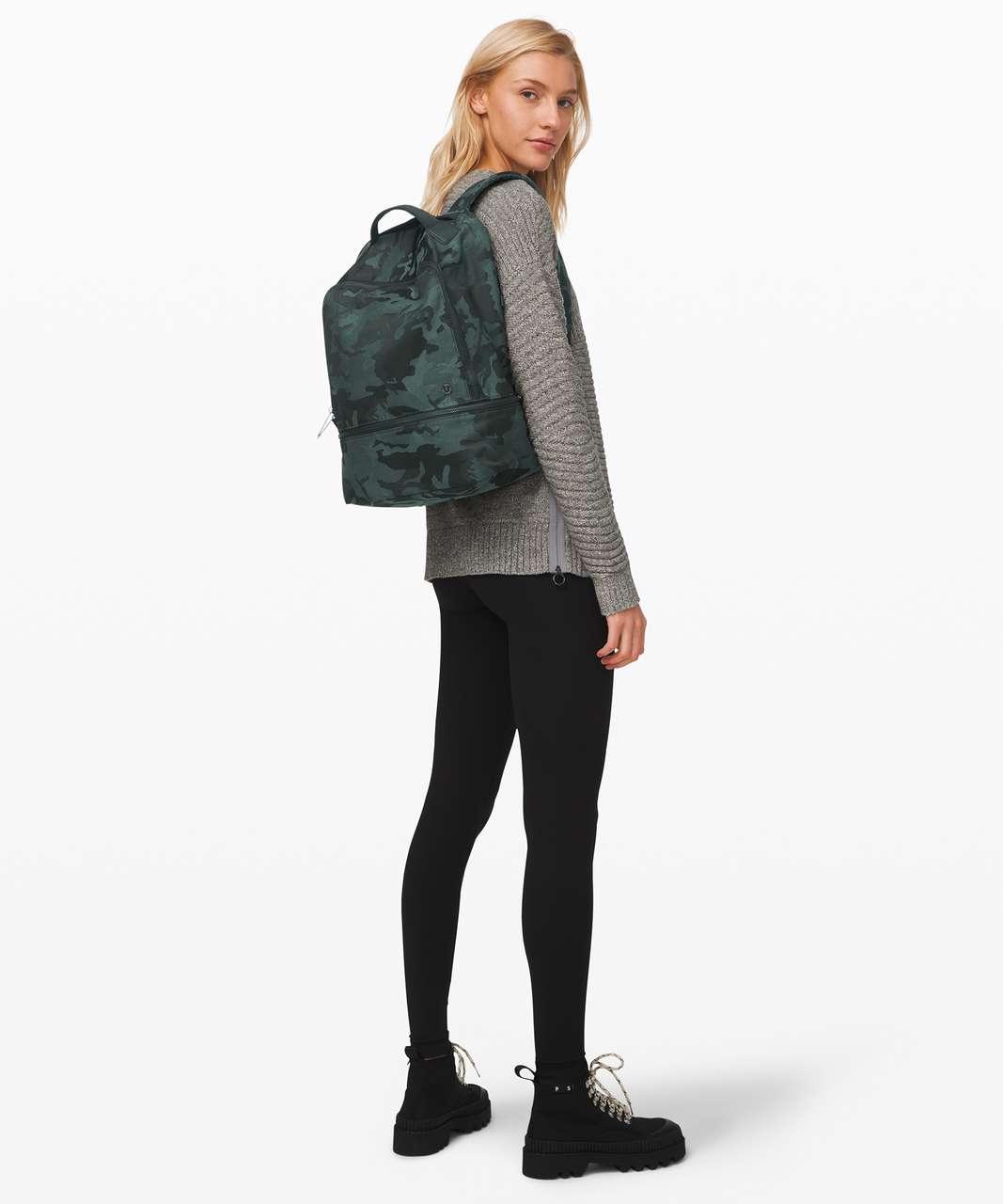 Lululemon City Adventurer Backpack *17L - Jacquard Camo Cotton Obsidian / Black