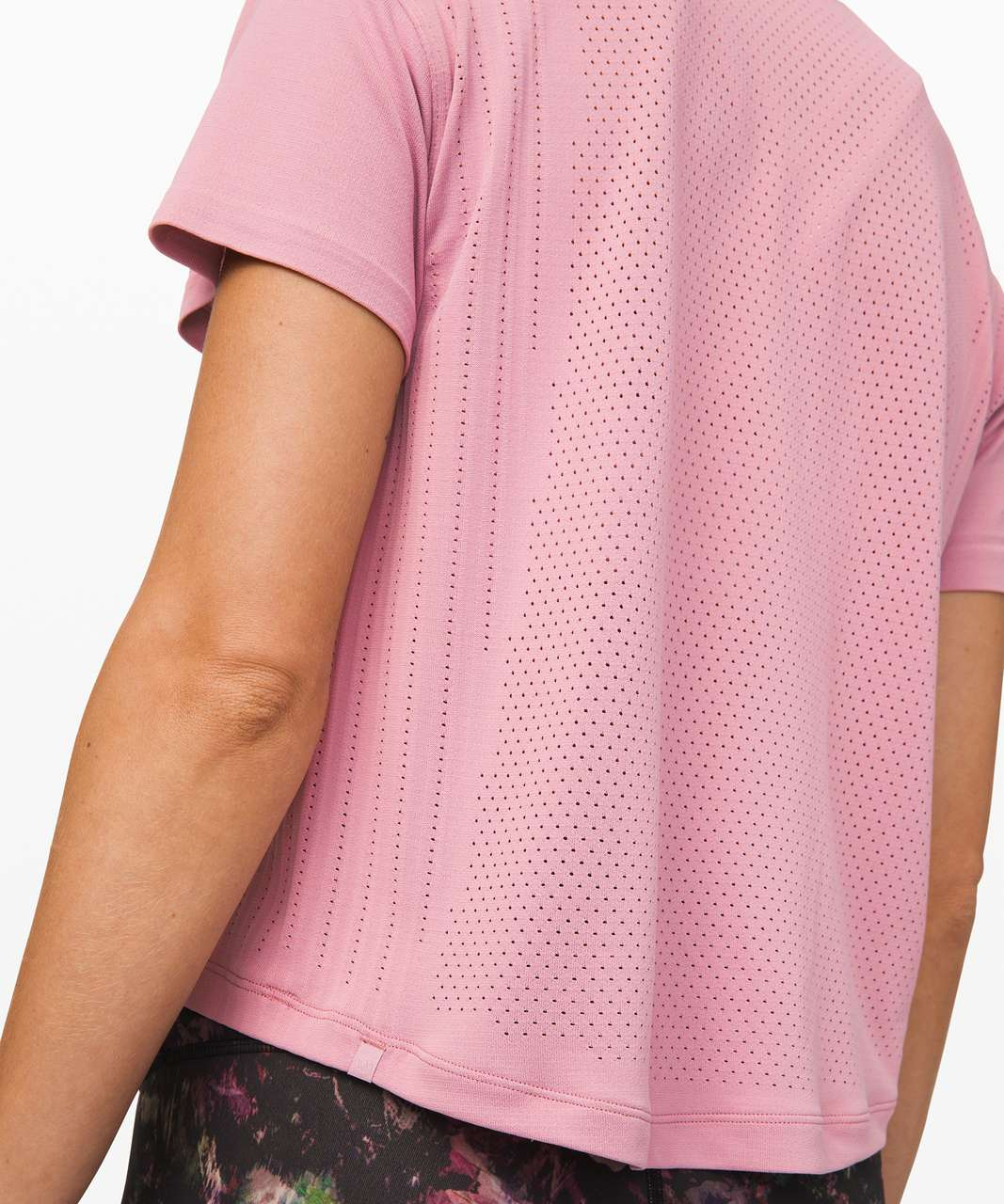 Lululemon Train to Be Short Sleeve - Pink Taupe / Pink Taupe (First Release)