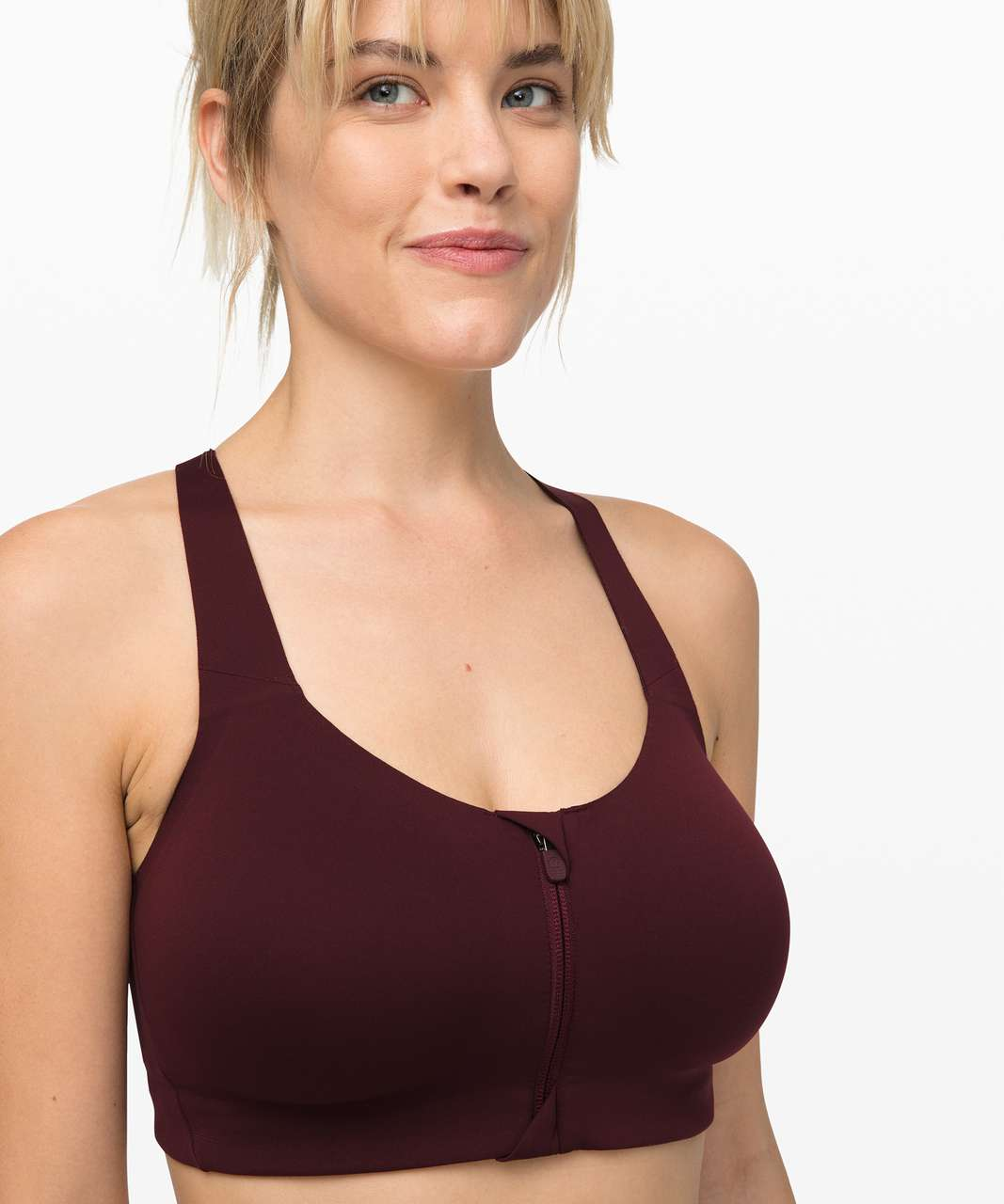 Lululemon Take Power Bra - Garnet