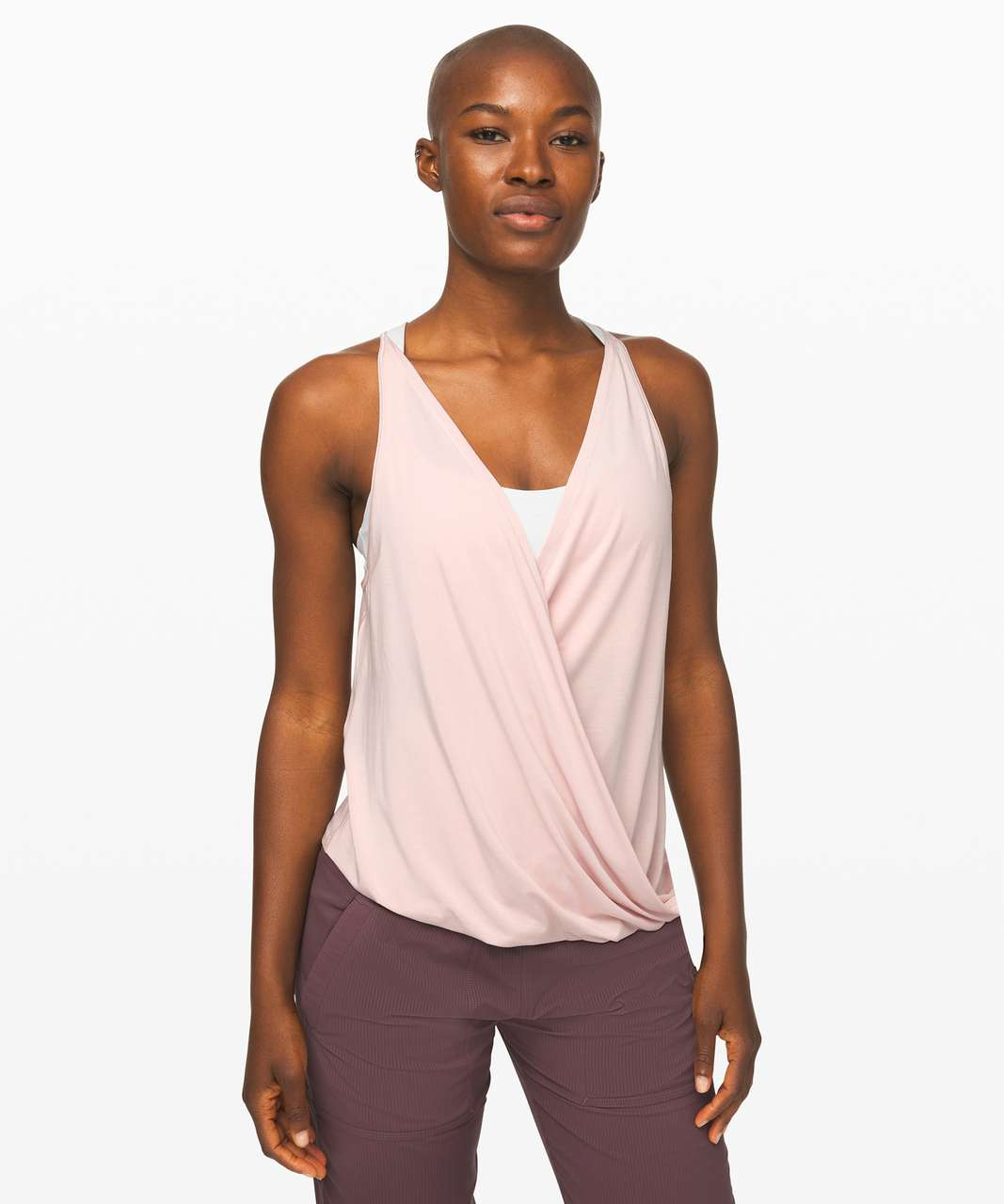 Lululemon As You Like It Tank *Reversible - Pink Bliss
