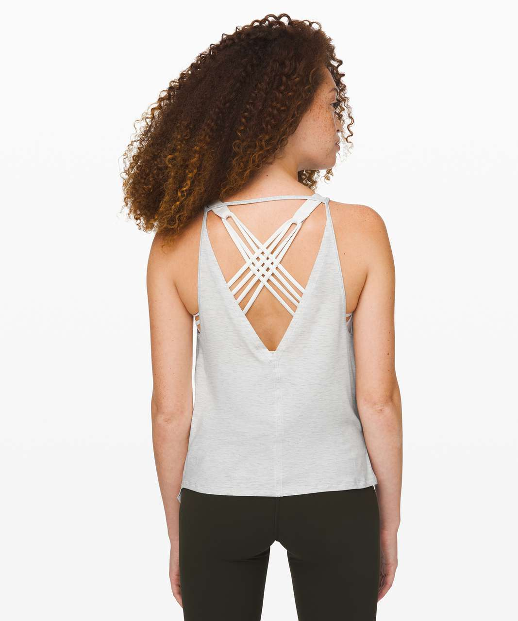 Lululemon As You Like It Tank *Reversible - Heathered Core Ultra Light Grey