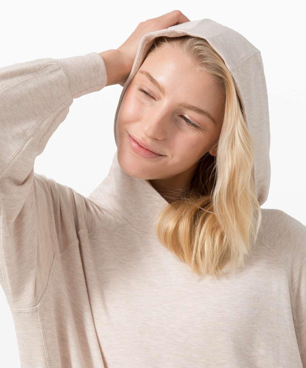 Lululemon Seek Stillness Hoodie - Heathered Cashew
