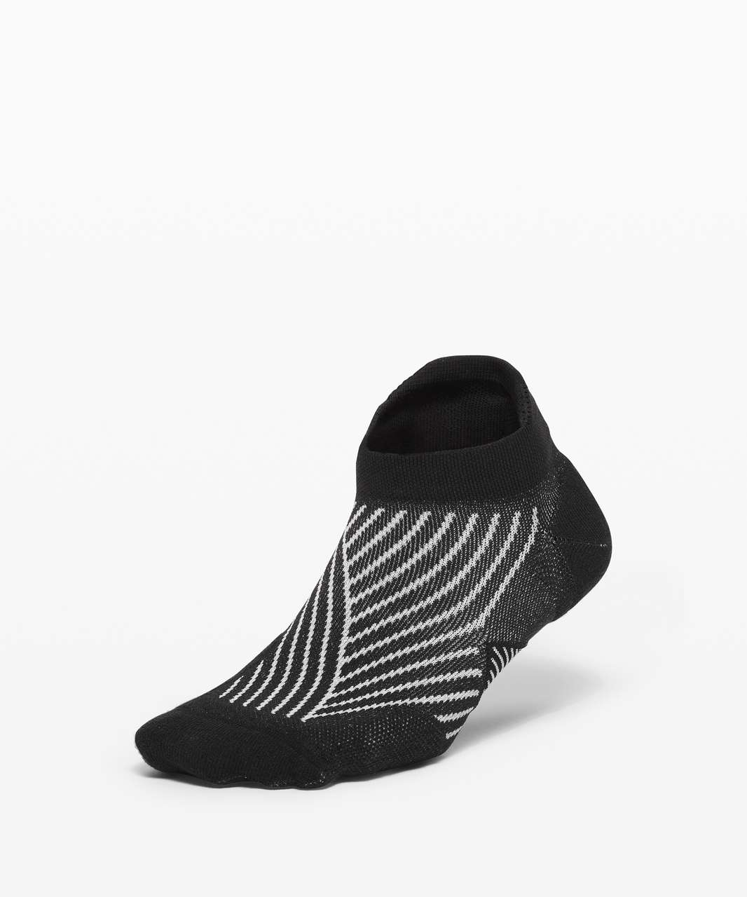 Lululemon Speed Sock *Silver - Light Cast / Black / Starlight