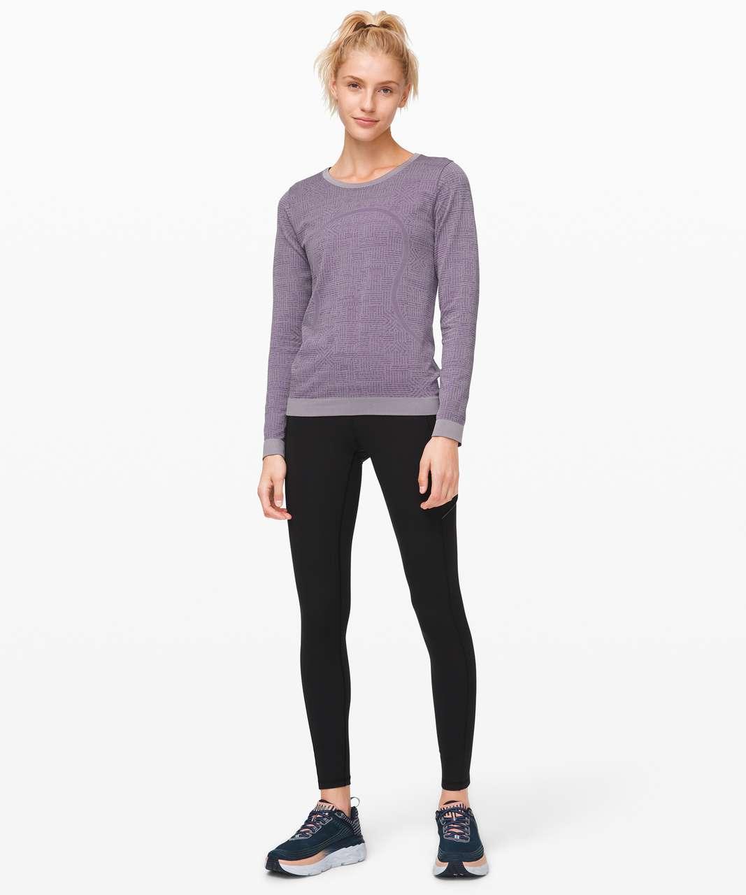 Lululemon Swiftly Relaxed Long Sleeve - Purple Quartz / Violet Grey