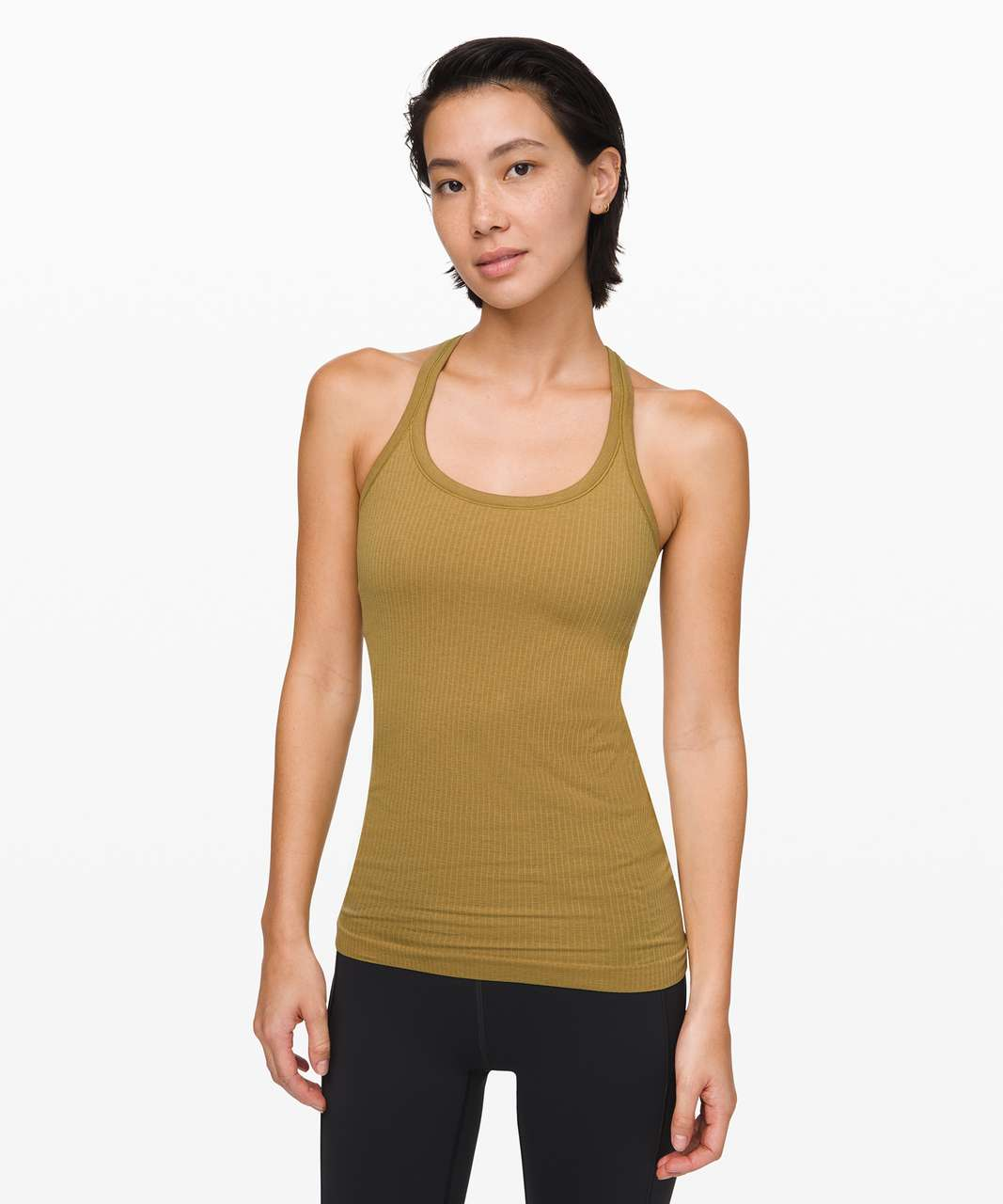 Lululemon Ebb To Street Tank II - Grape Leaf
