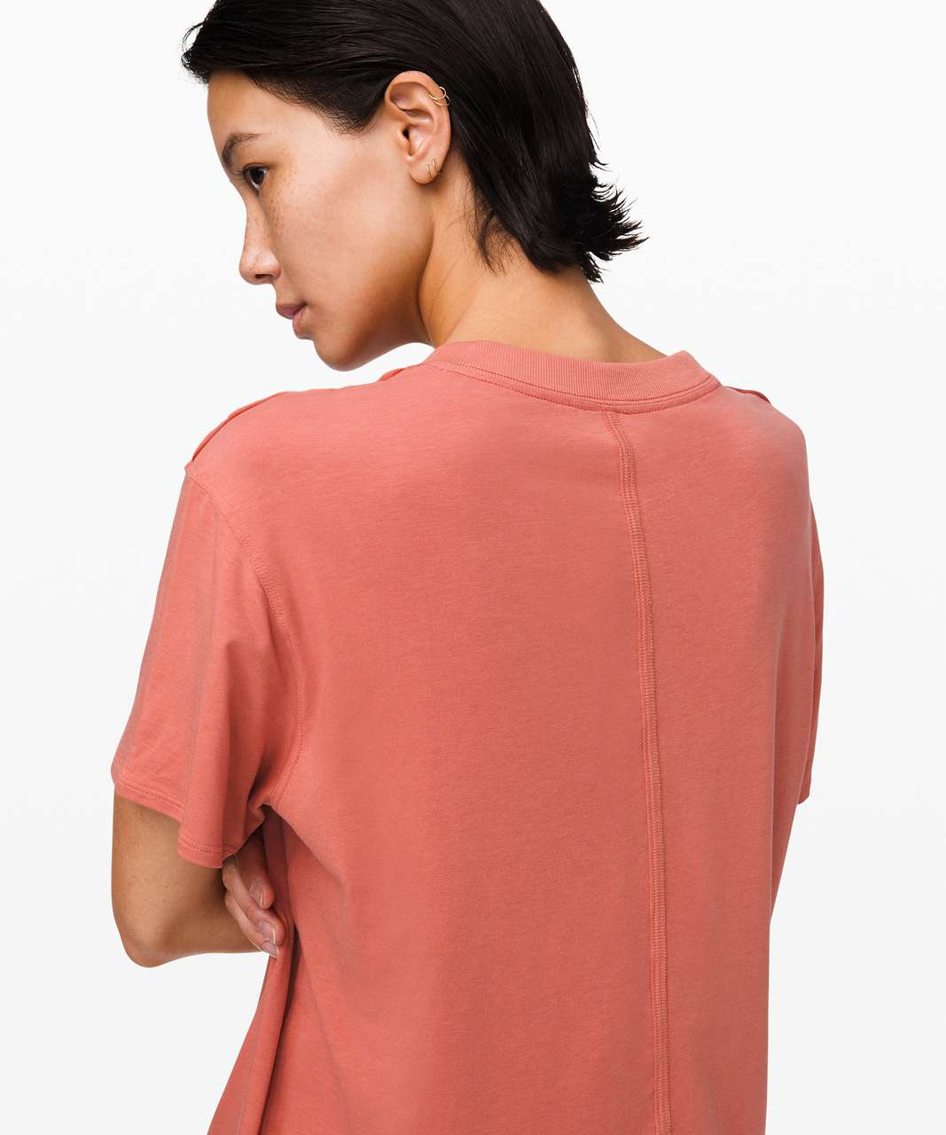 Lululemon All Yours Boyfriend Tee - Copper Clay