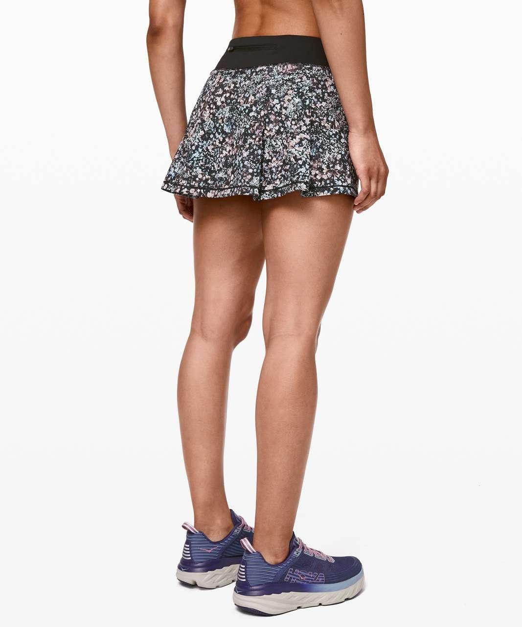 Lululemon Pace Rival Skirt II (Regular) *4-way Stretch - Floral Spritz Multi / Black