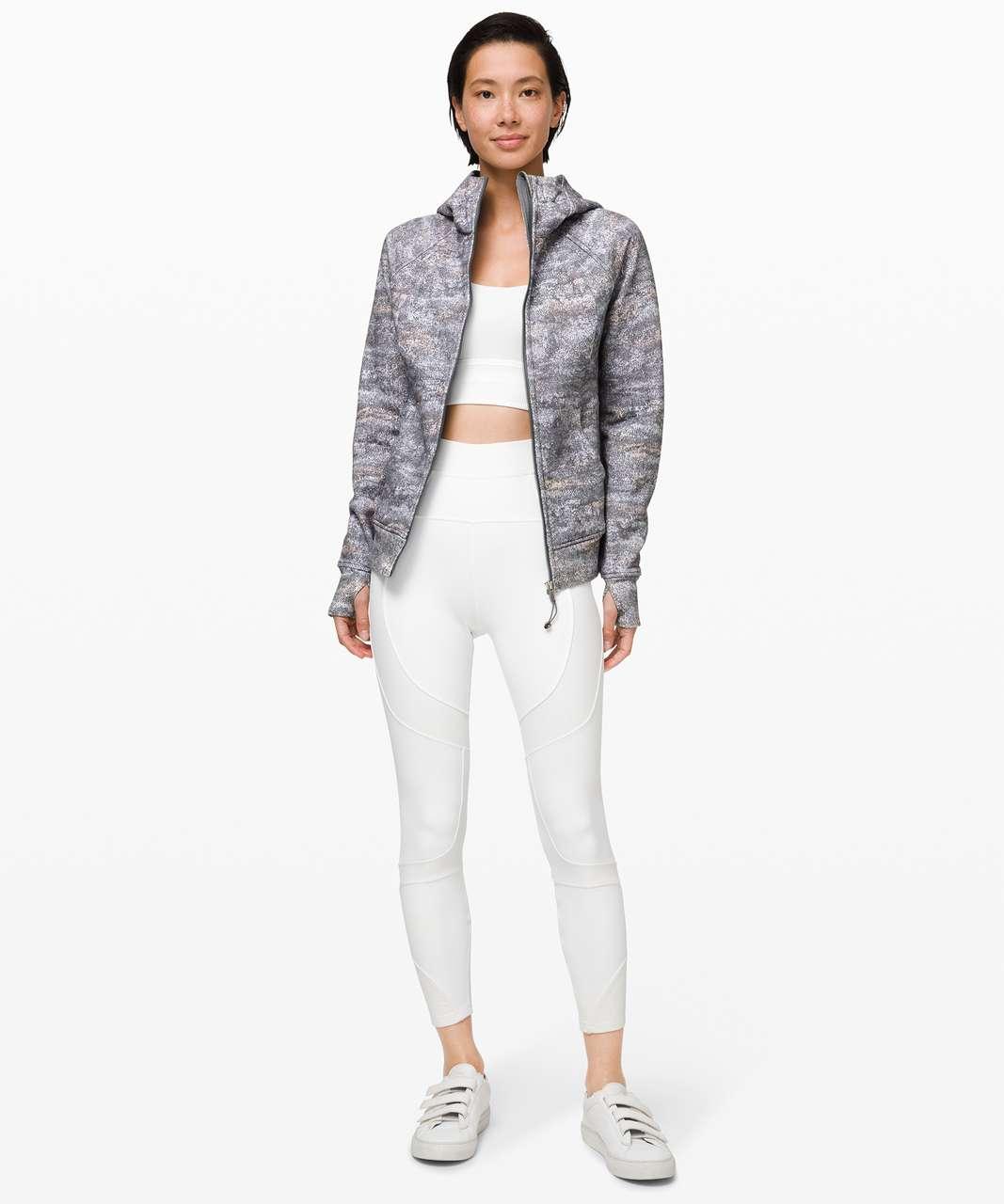 Lululemon Scuba Hoodie *Light Cotton Fleece - Frozen Vista Alpine White Multi