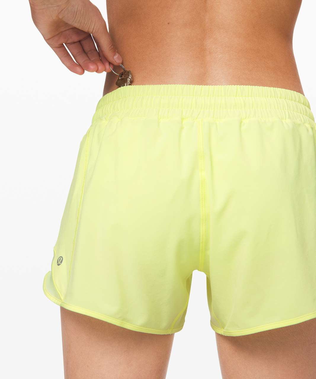 "Lululemon Hotty Hot Short II *Long 4"" - Florid Flash"