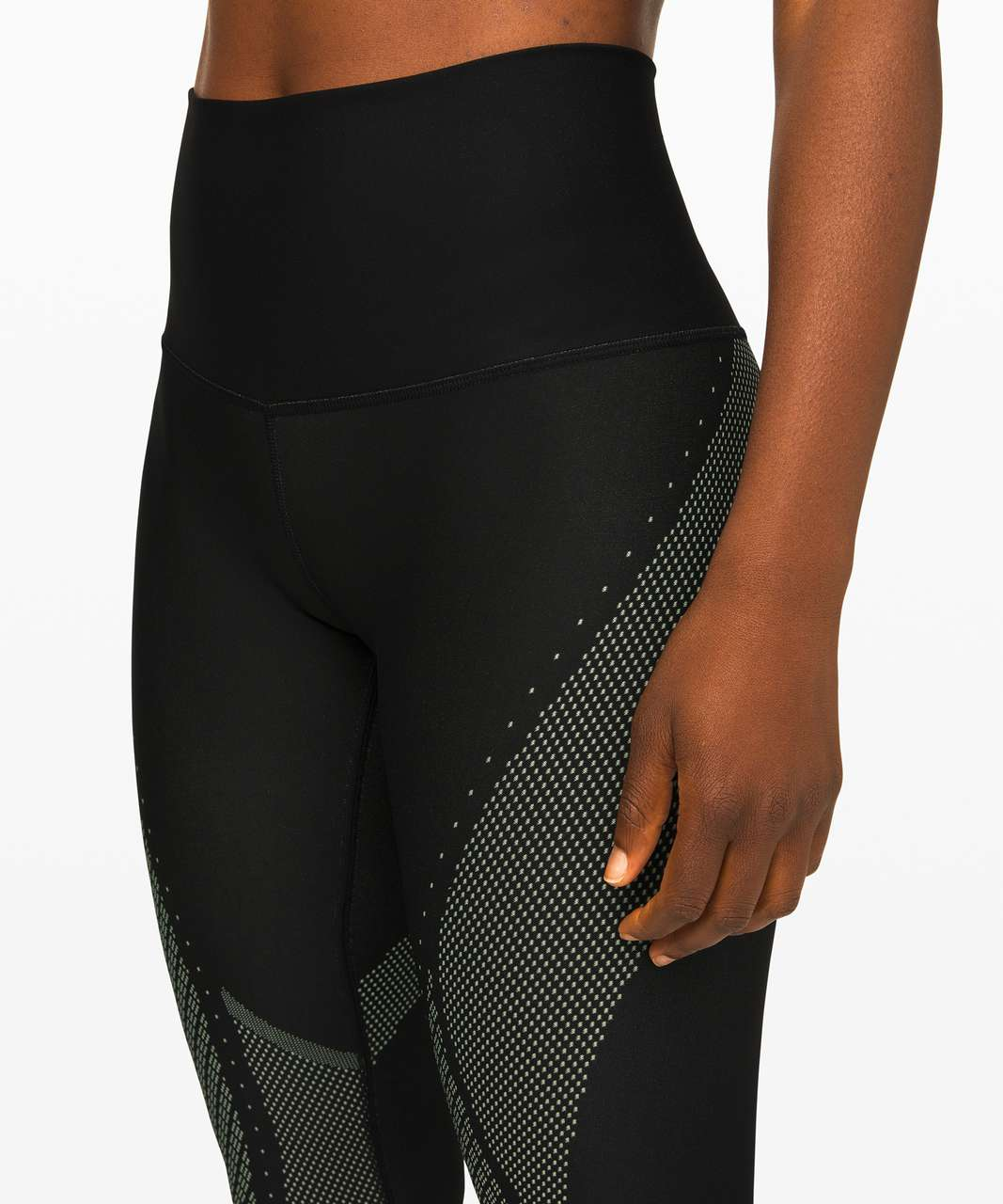 "Lululemon Mapped Out High-Rise Tight 28"" - Black / Florid Flash"