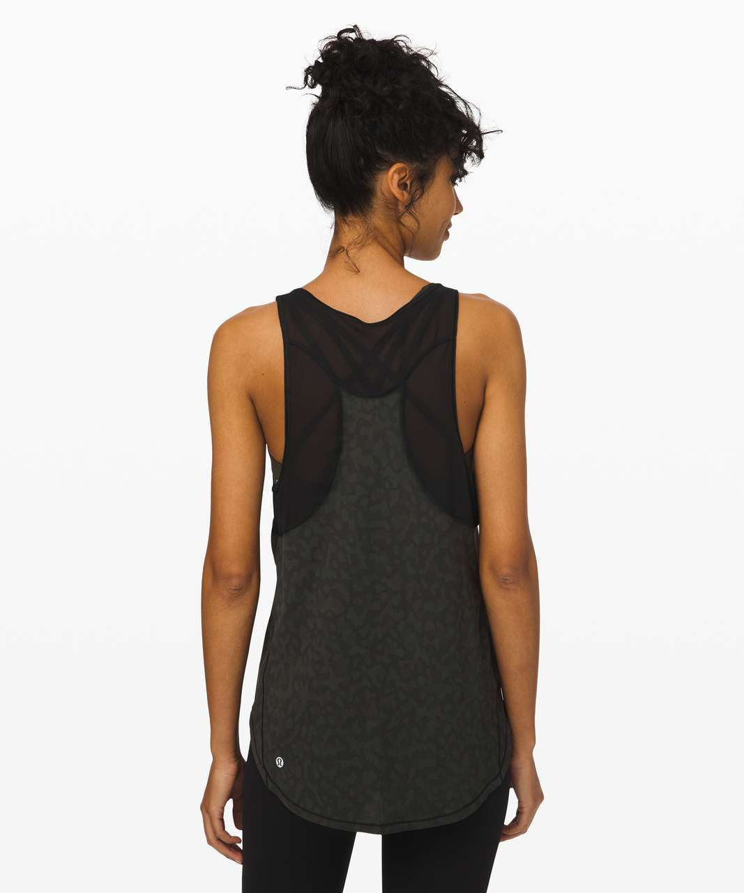 Lululemon Sculpt Tank II - Formation Camo Evergreen Multi  / Black