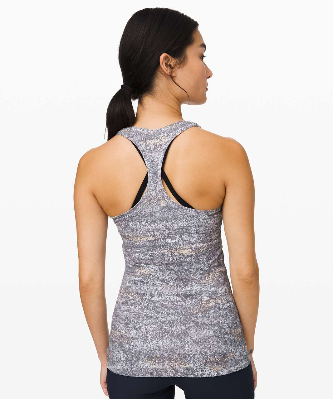 Lululemon Cool Racerback II *Nulu - Frozen Vista Alpine White Multi