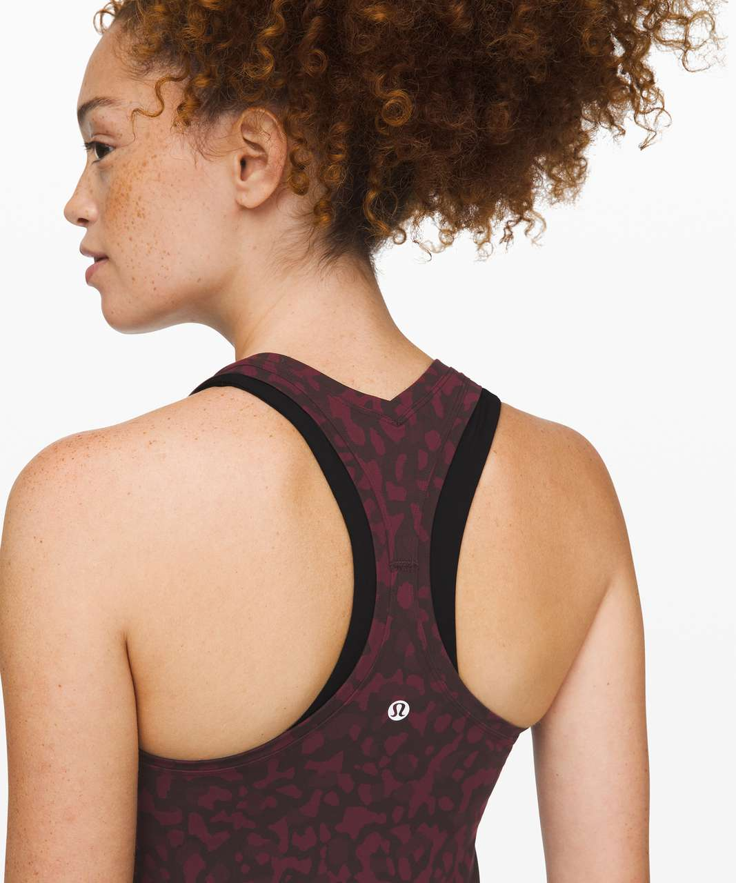 Lululemon Cool Racerback II *Nulu - Formation Camo Dark Adobe Multi