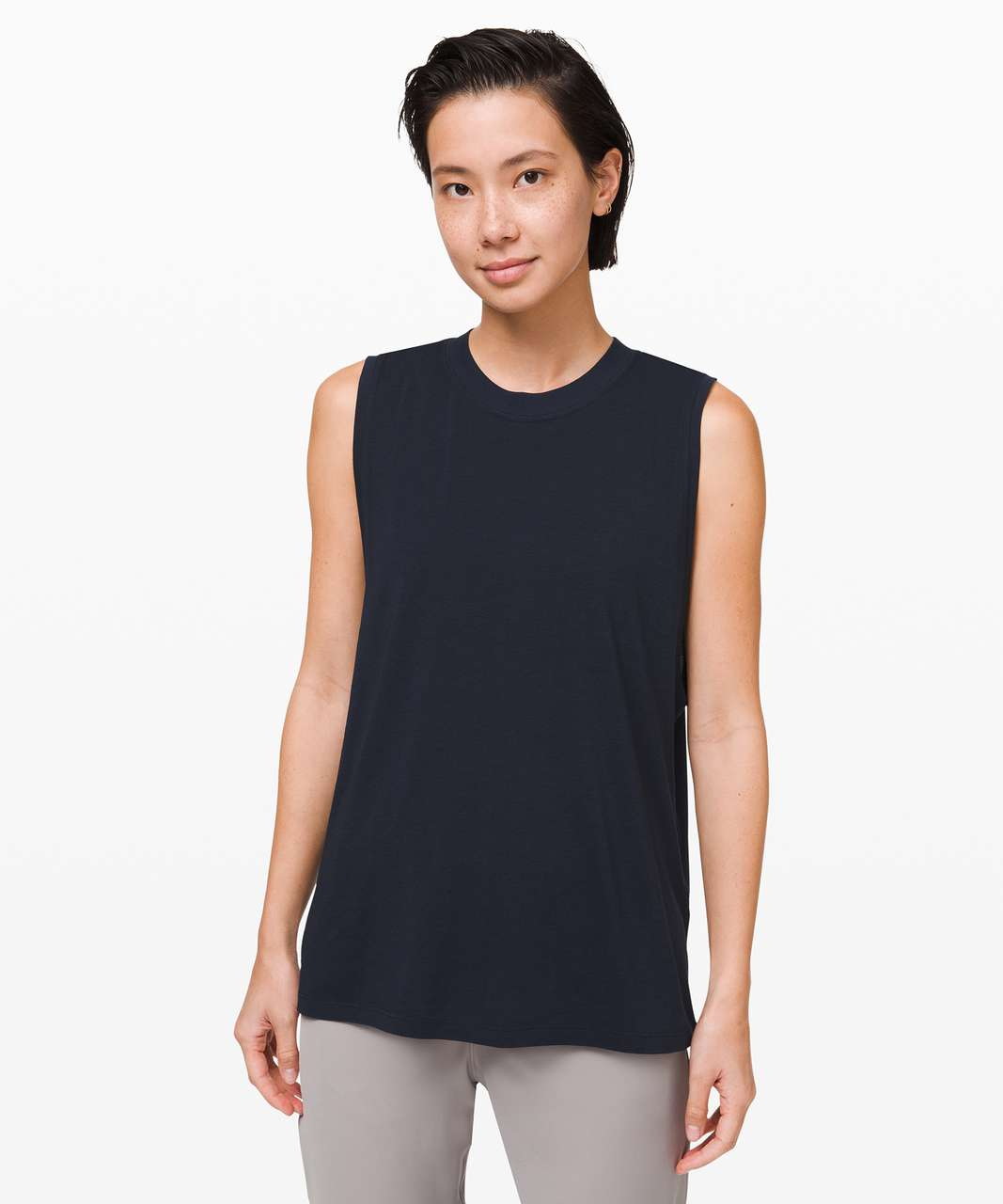Lululemon All Yours Boyfriend Tank - True Navy