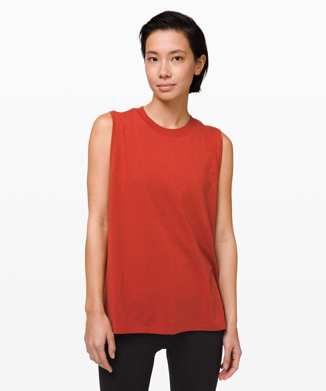 Lululemon All Yours Boyfriend Tank - Magma