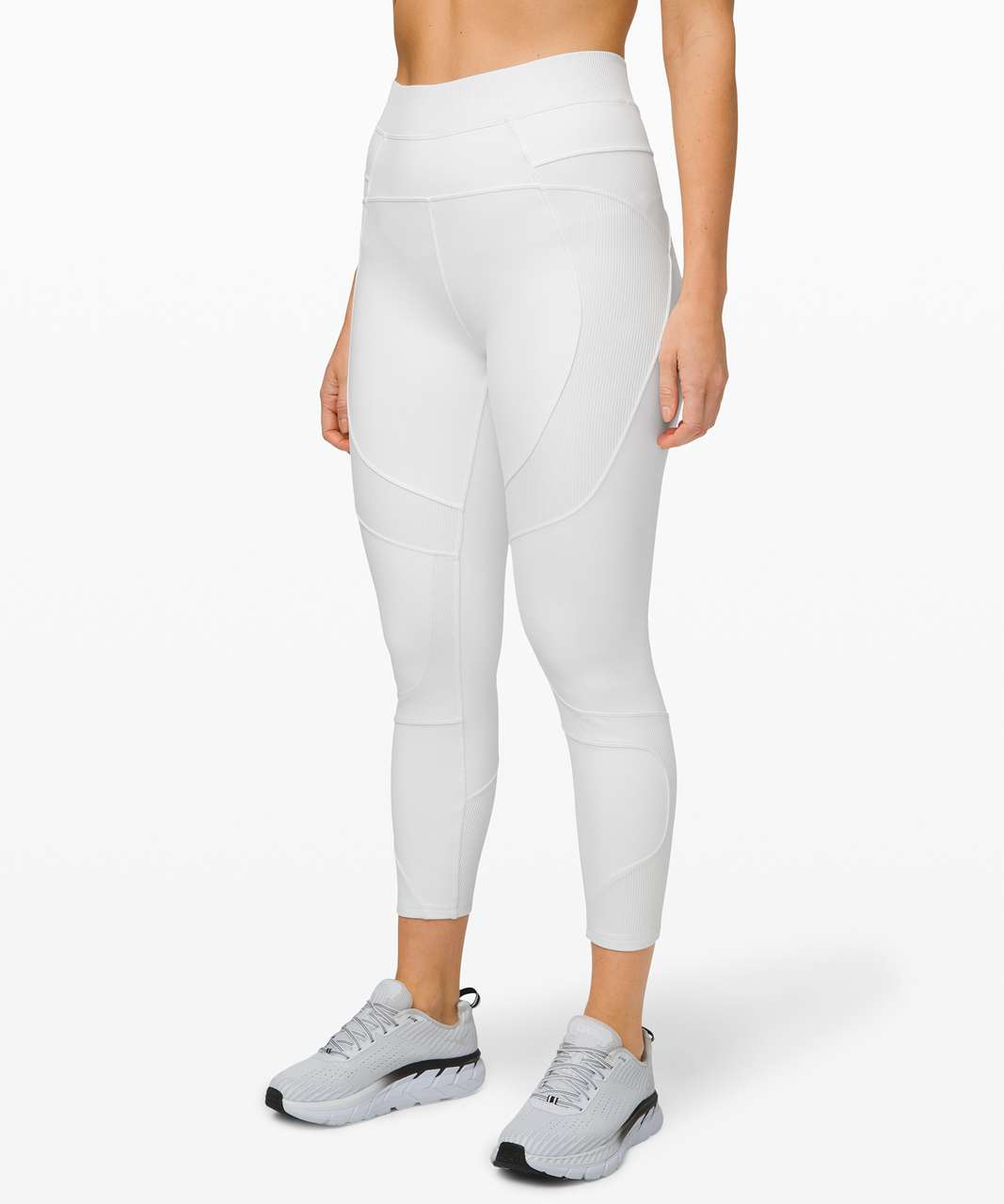 "Lululemon New Ambition Super High-Rise Tight 28"" - White"