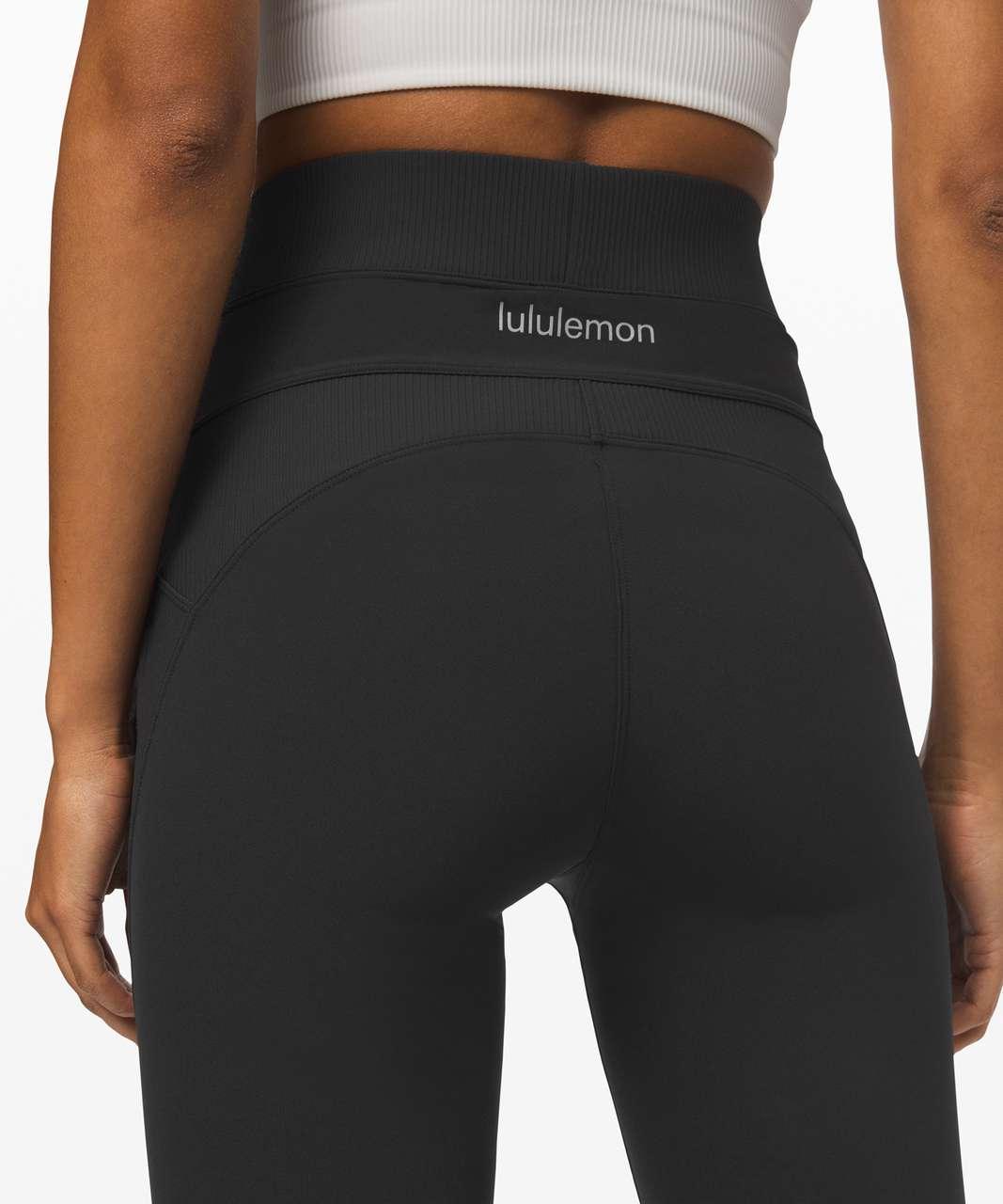 "Lululemon New Ambition Super High-Rise Tight 28"" - Black"