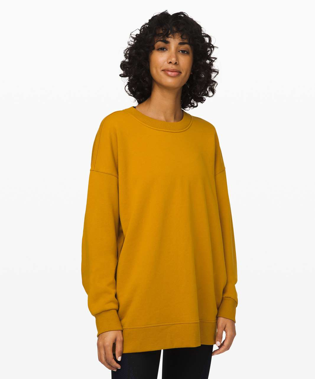 Lululemon Perfectly Oversized Crew - Fools Gold