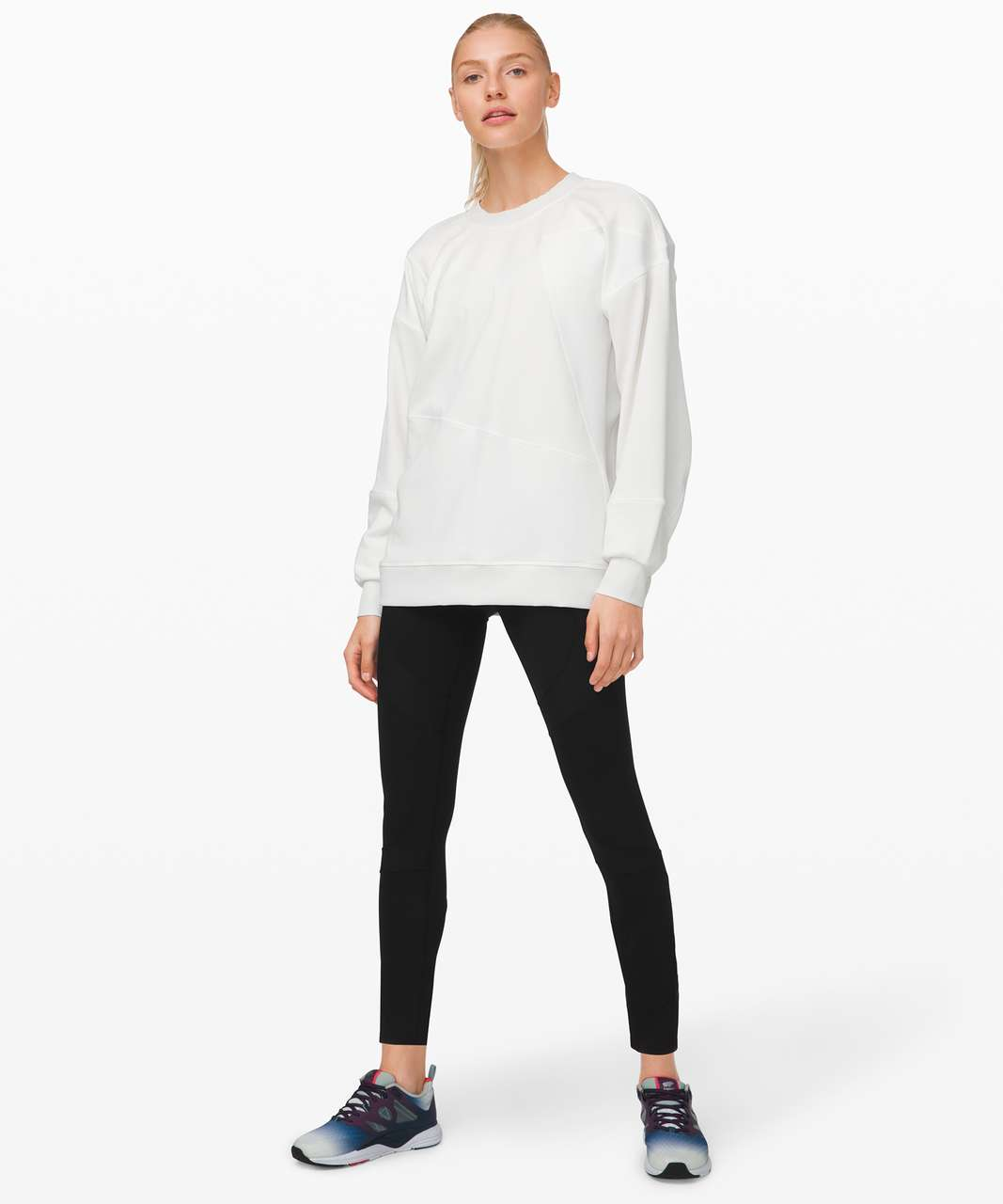 Lululemon Perfectly Oversized Crew - White (First Release)