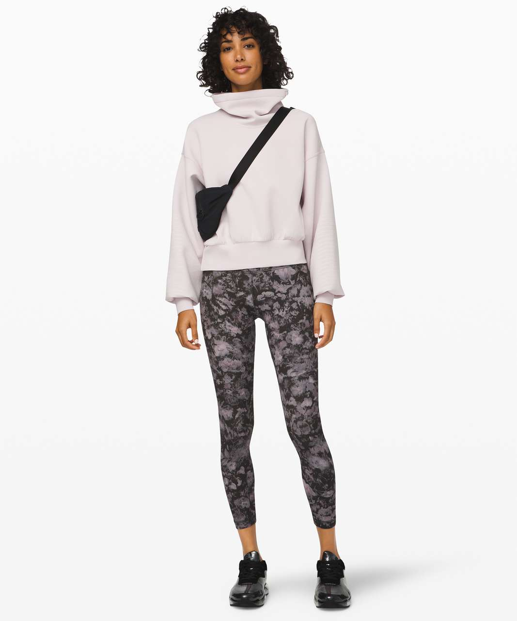 Lululemon Full Flourish Pullover - Light Chrome