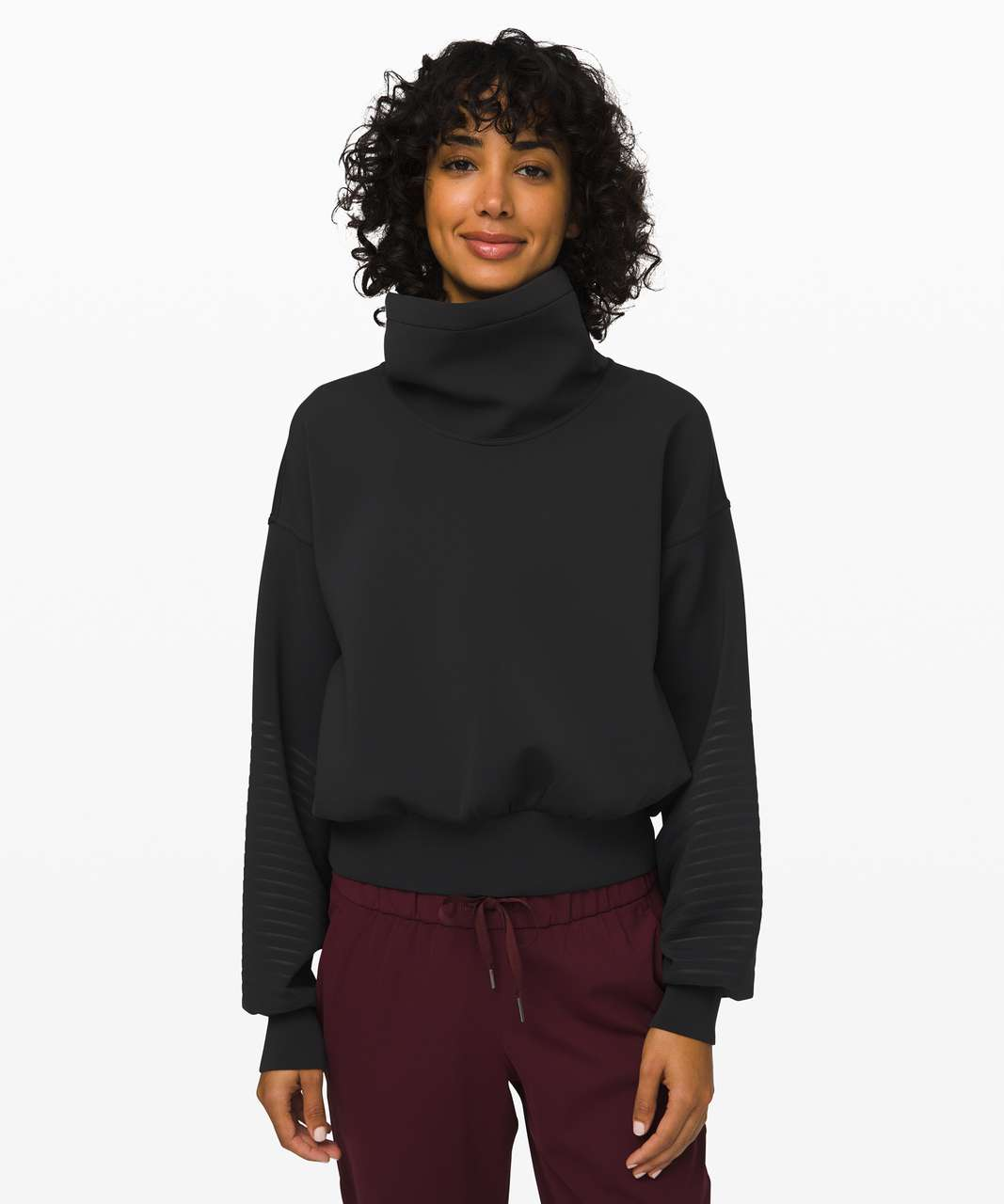 Lululemon Full Flourish Pullover - Black