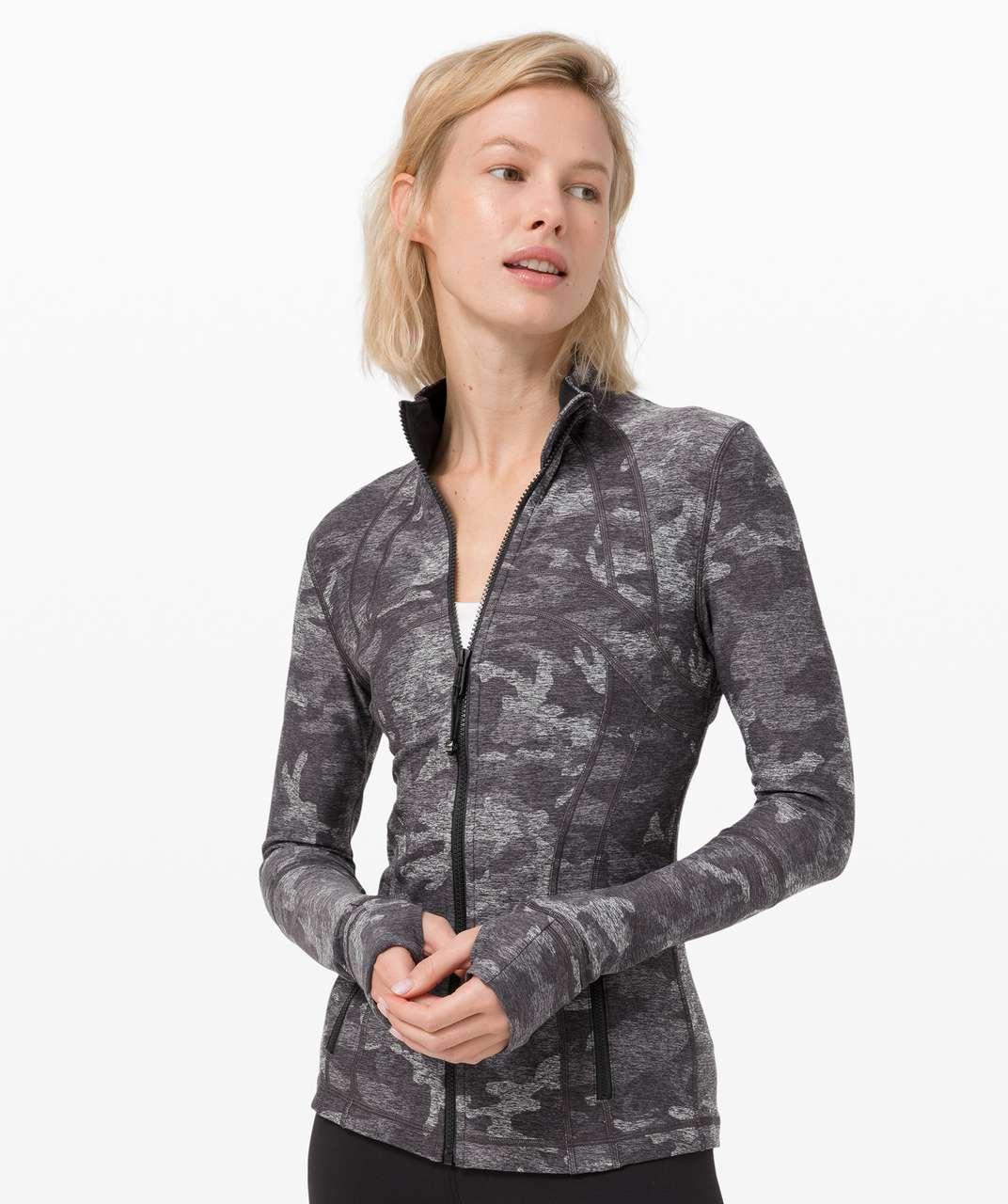 Lululemon Define Jacket *Rulu - Incognito Camo HTR Black