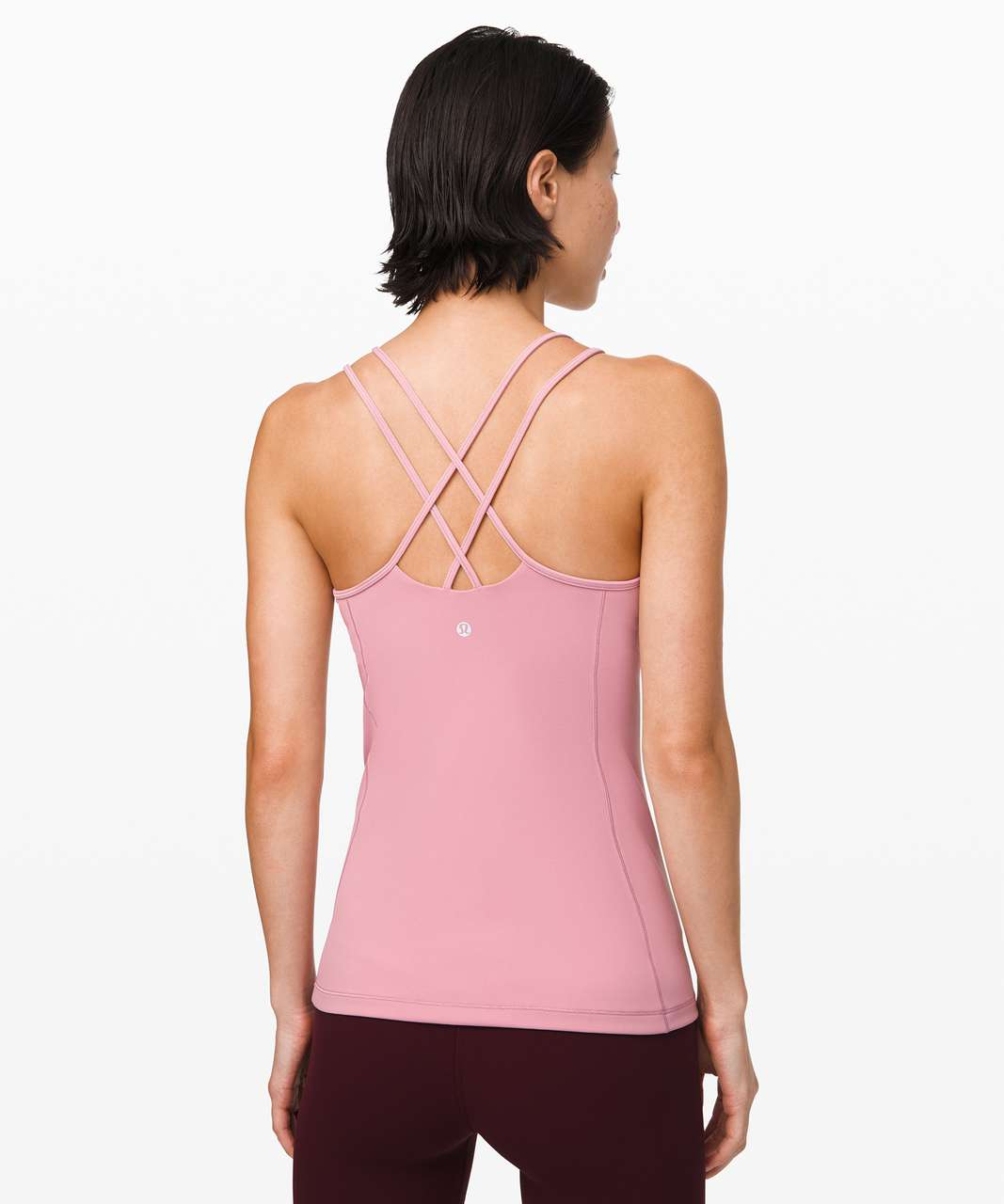 Lululemon Free To Be Tank *Everlux - Pink Taupe