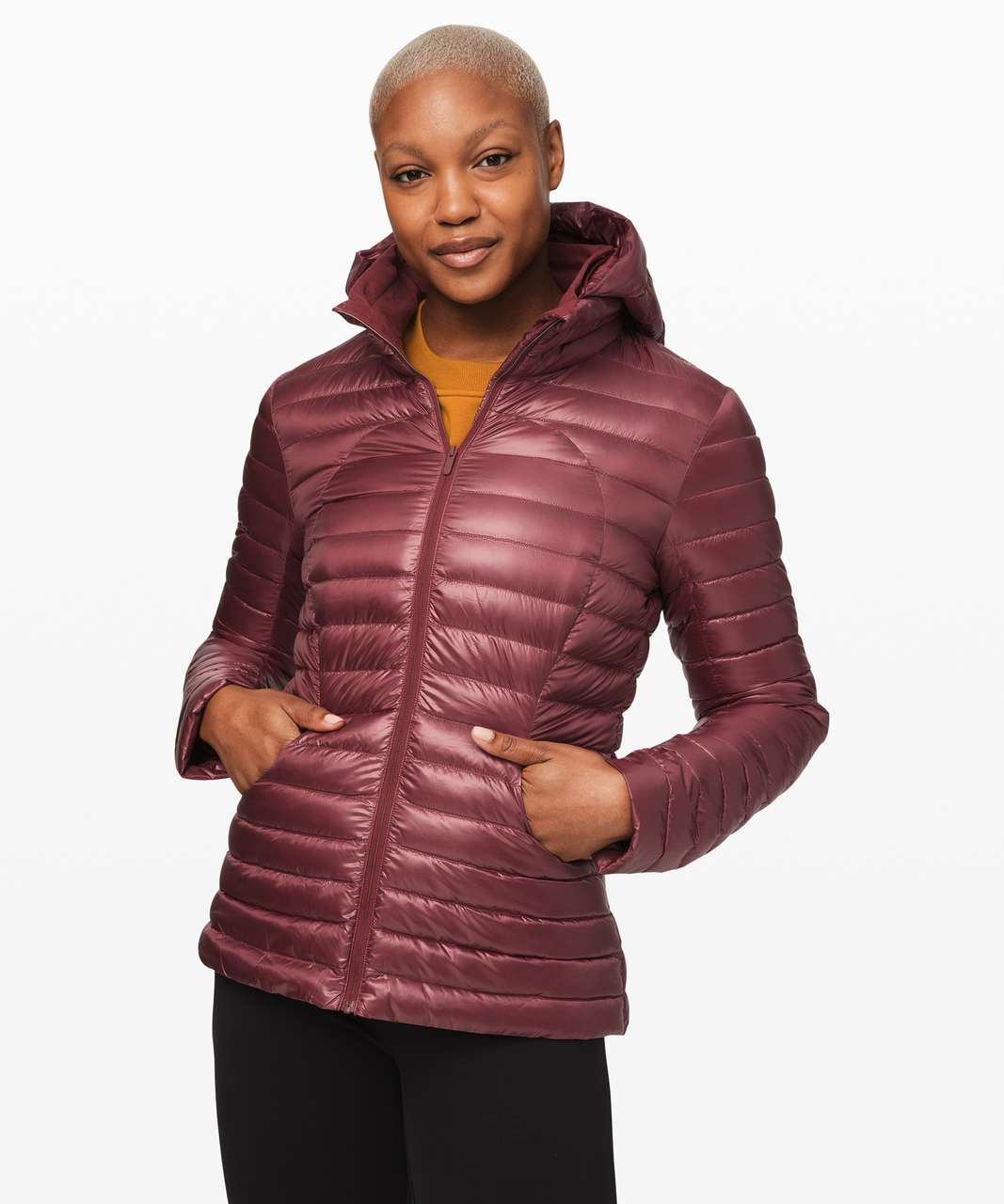 Lululemon Pack It Down Jacket *Shine - Chianti