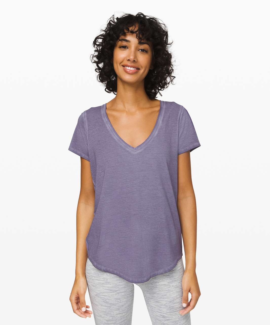 Lululemon Love Tee *Fade - Washed Purple Quartz