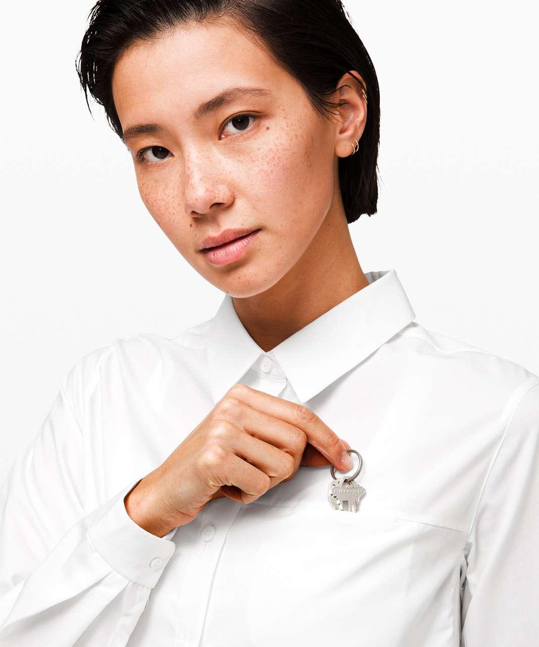 Lululemon Full Day Ahead Shirt - White