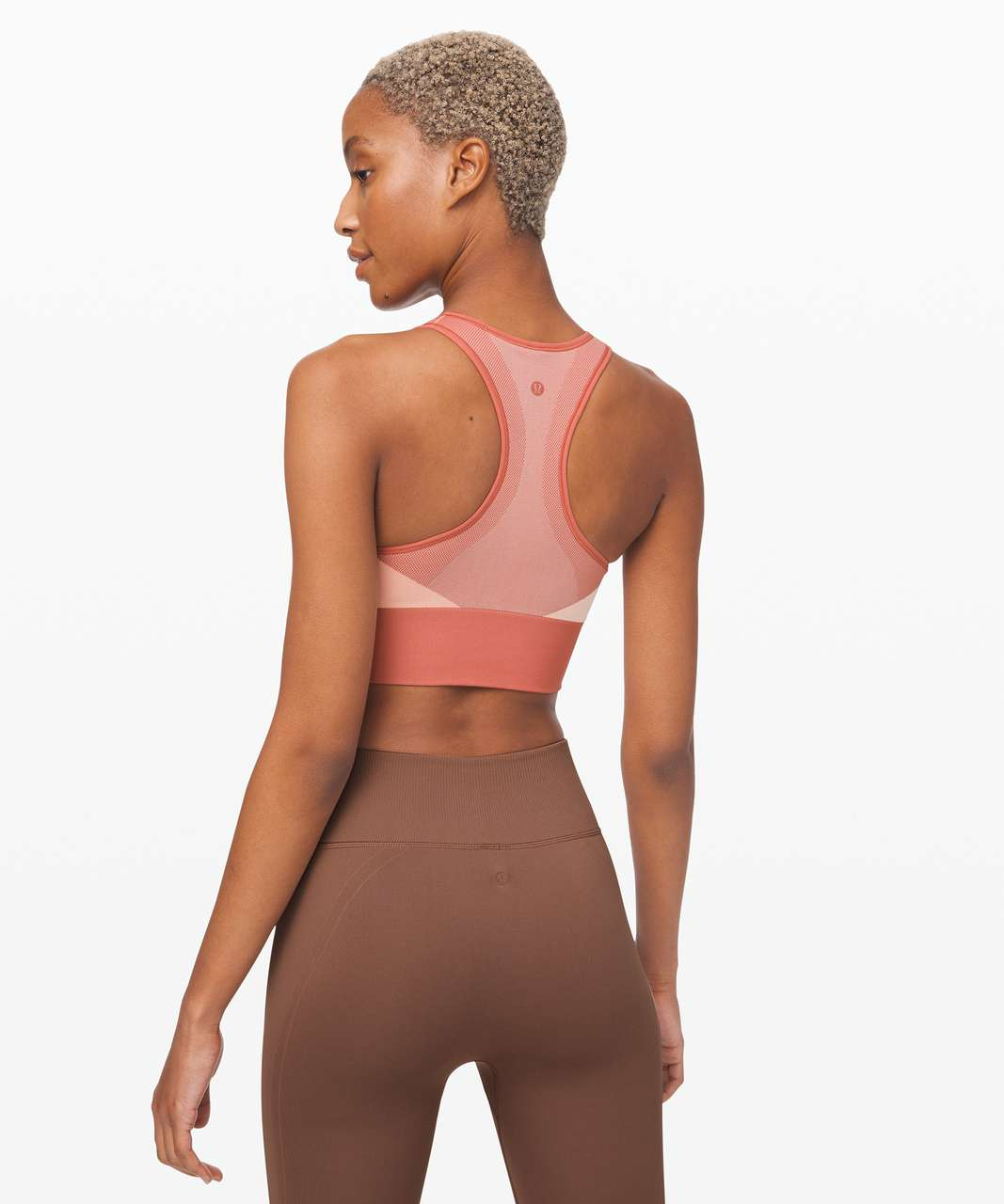 Lululemon Ebb to Train Bra *Abstract - Copper Clay / Angel Wing