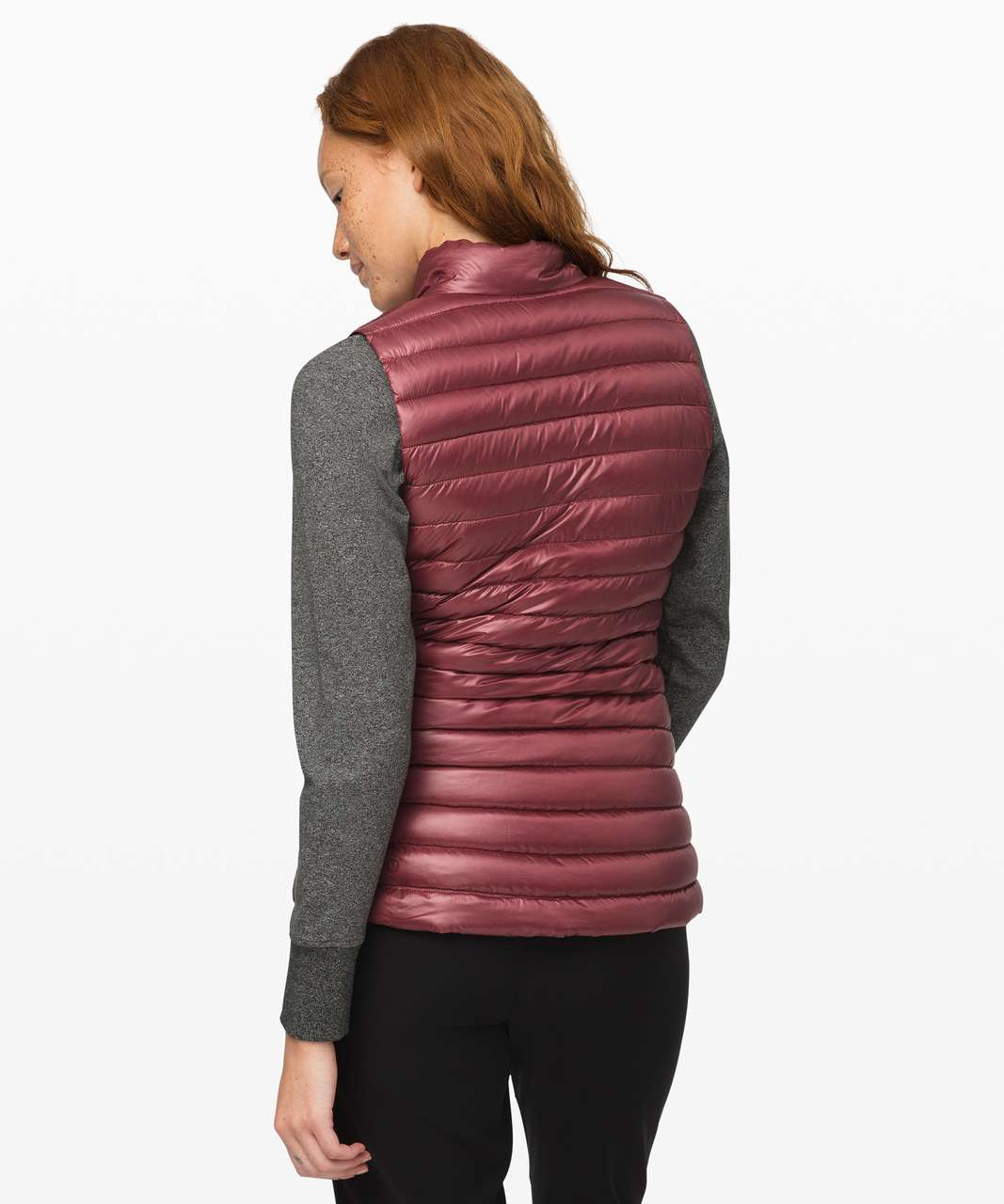 Lululemon Pack It Down Vest *Shine - Chianti