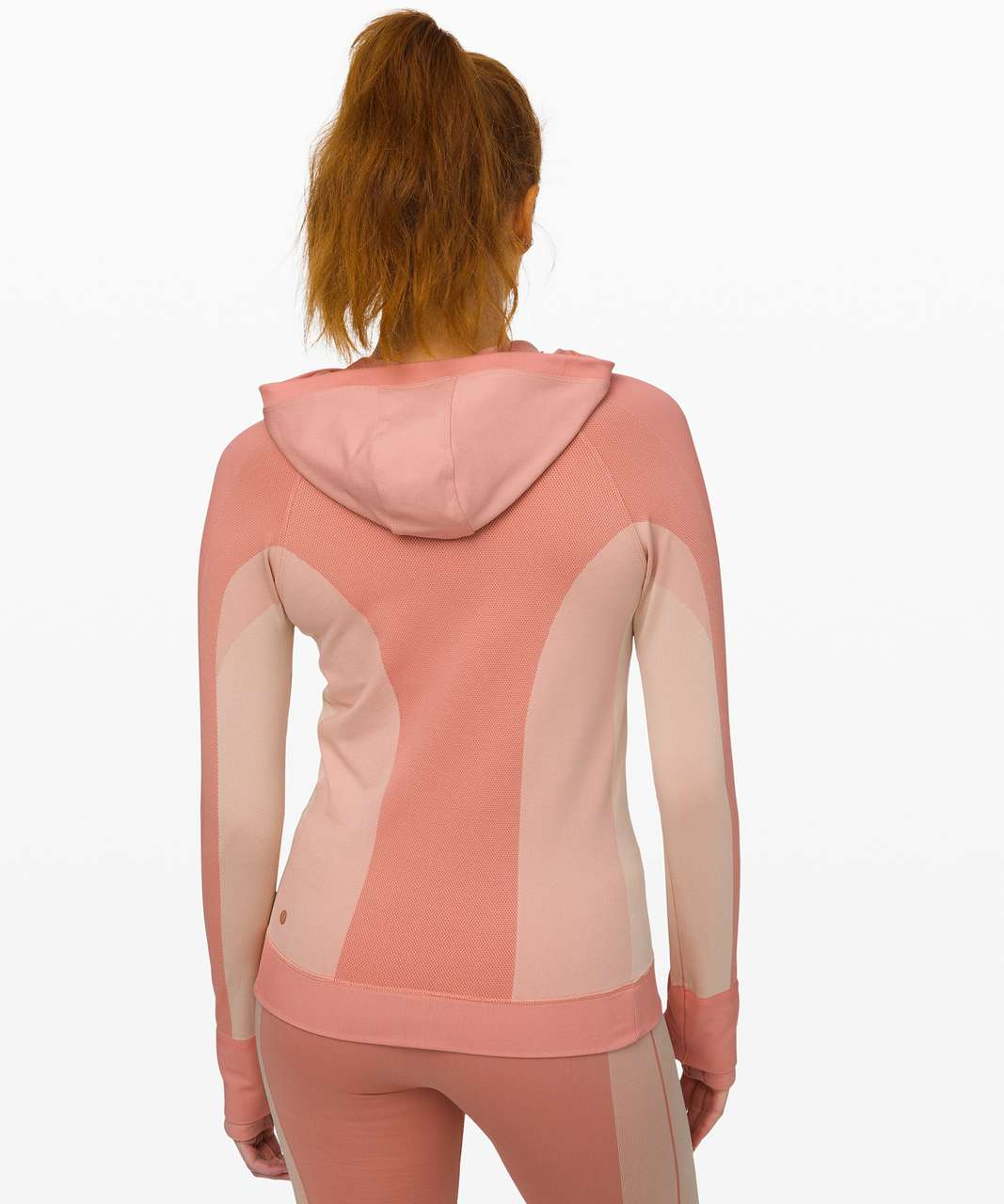 Lululemon Ebb to Train Jacket *Abstract - Copper Clay / Angel Wing
