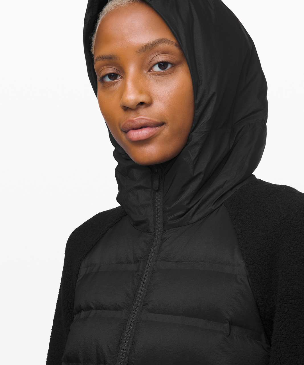 Lululemon Go Cozy Insulated Jacket - Black / Black