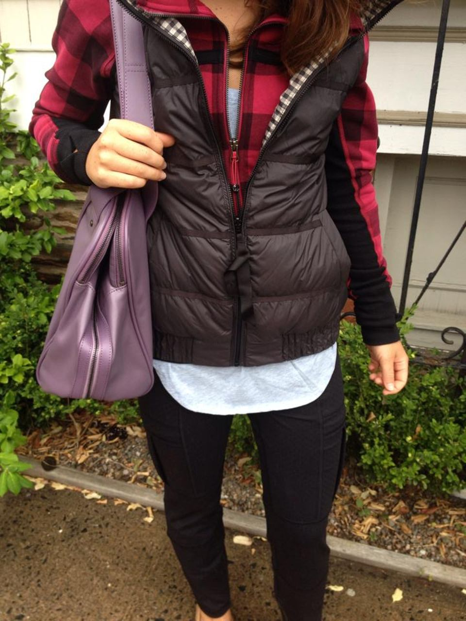Lululemon Scuba Hoodie II - Mini Camp Check Bordeaux Drama Bumble Berry / Bumble Berry / Heathered Bordeaux Drama
