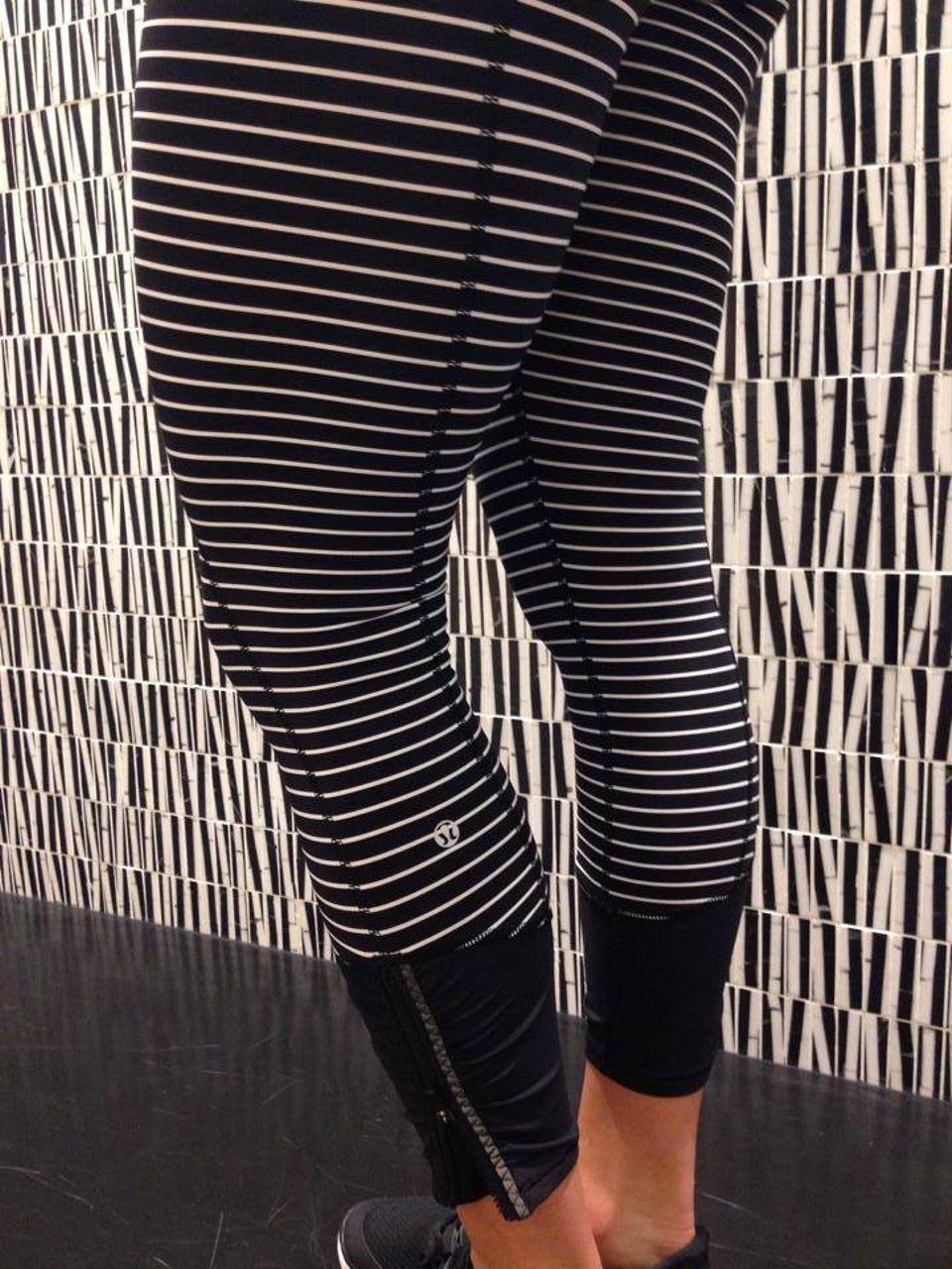 Lululemon Runday Crop - Parallel Stripe