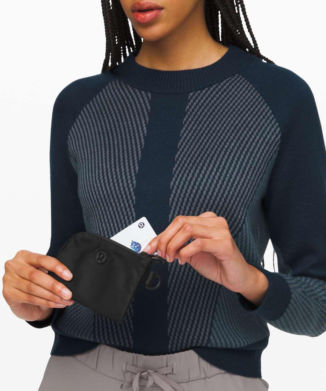 Lululemon Test of Time Card Holder - Black