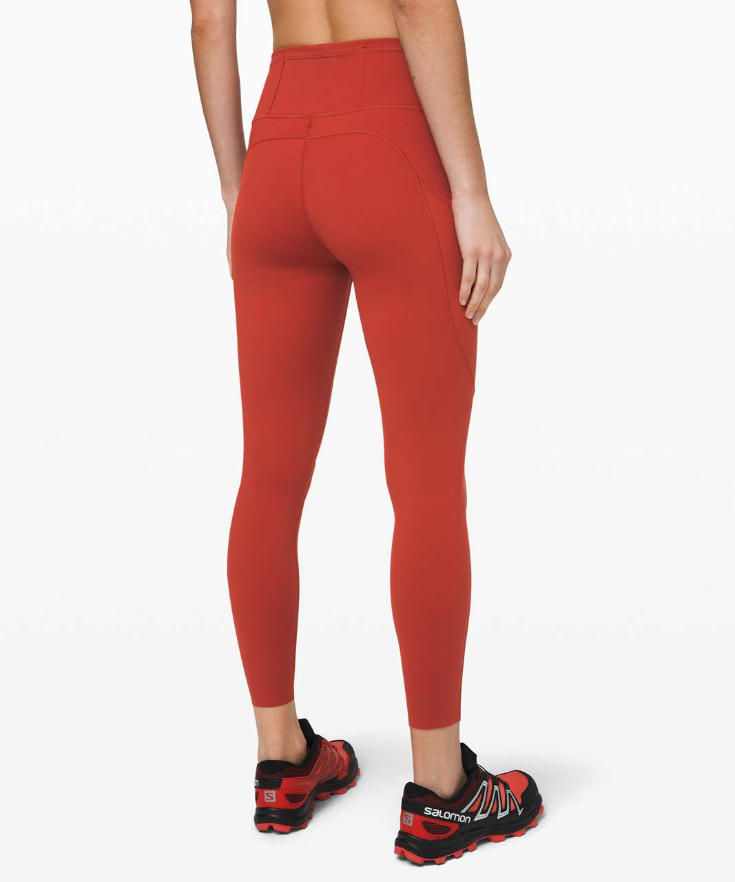 "Lululemon Fast and Free Tight II 25"" *Non-Reflective Nulux - Magma"